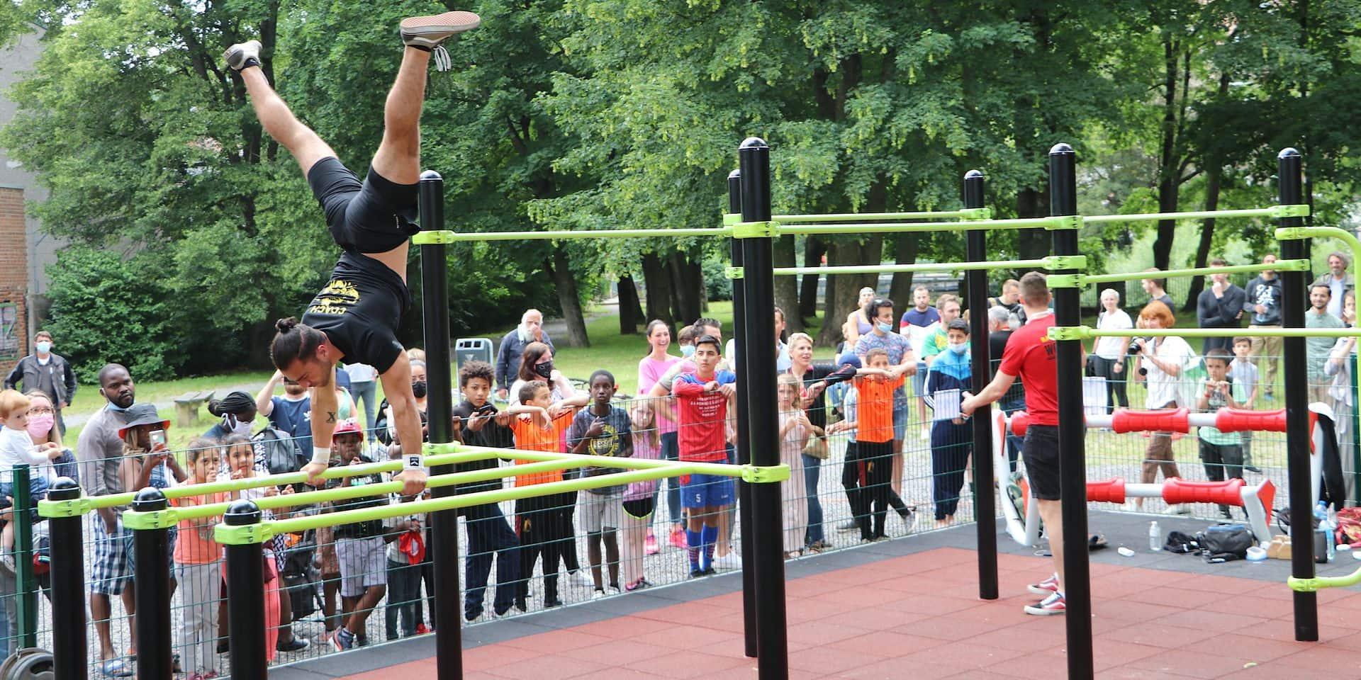 Verviers tient son premier parc de Street Workout !
