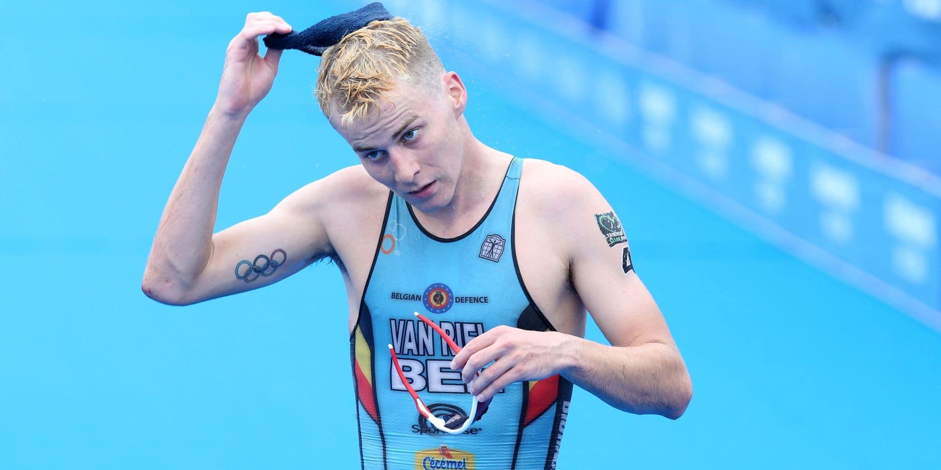 Triathlon: Marten Van Riel, victime d'une chute et d'une fracture !