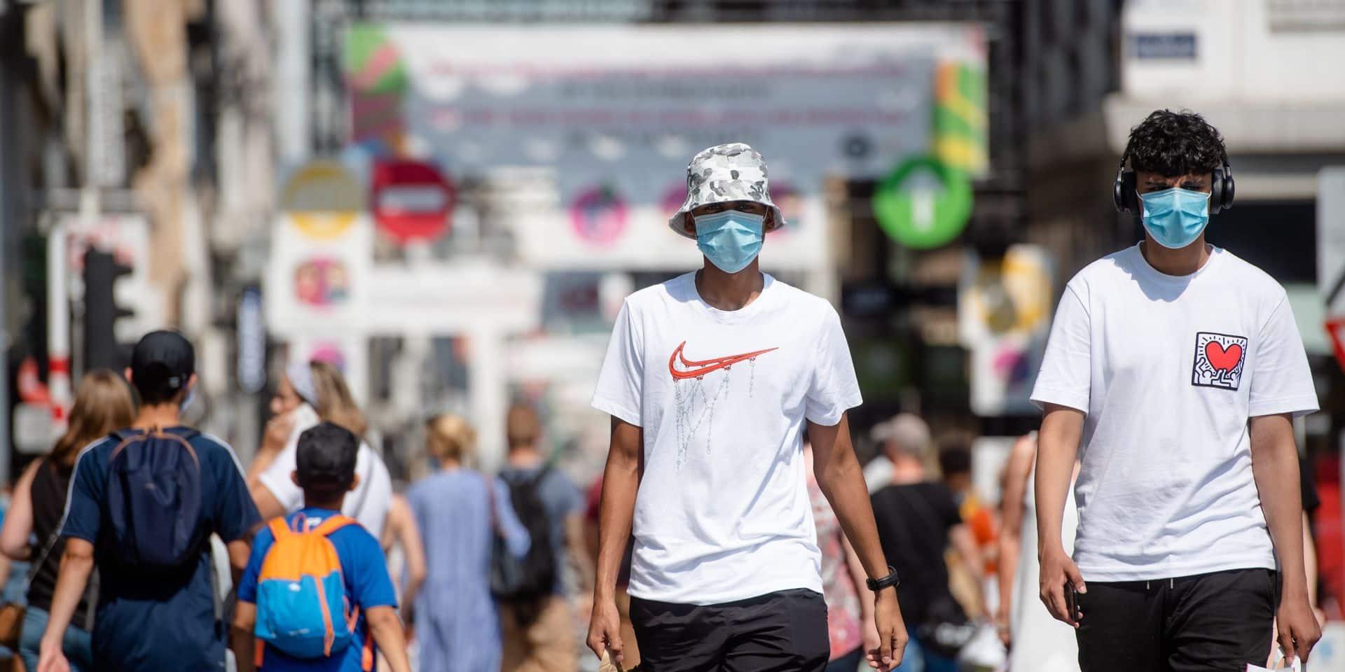Les experts du Gems demandent au Comité de concertation de maintenir l'obligation du port du masque