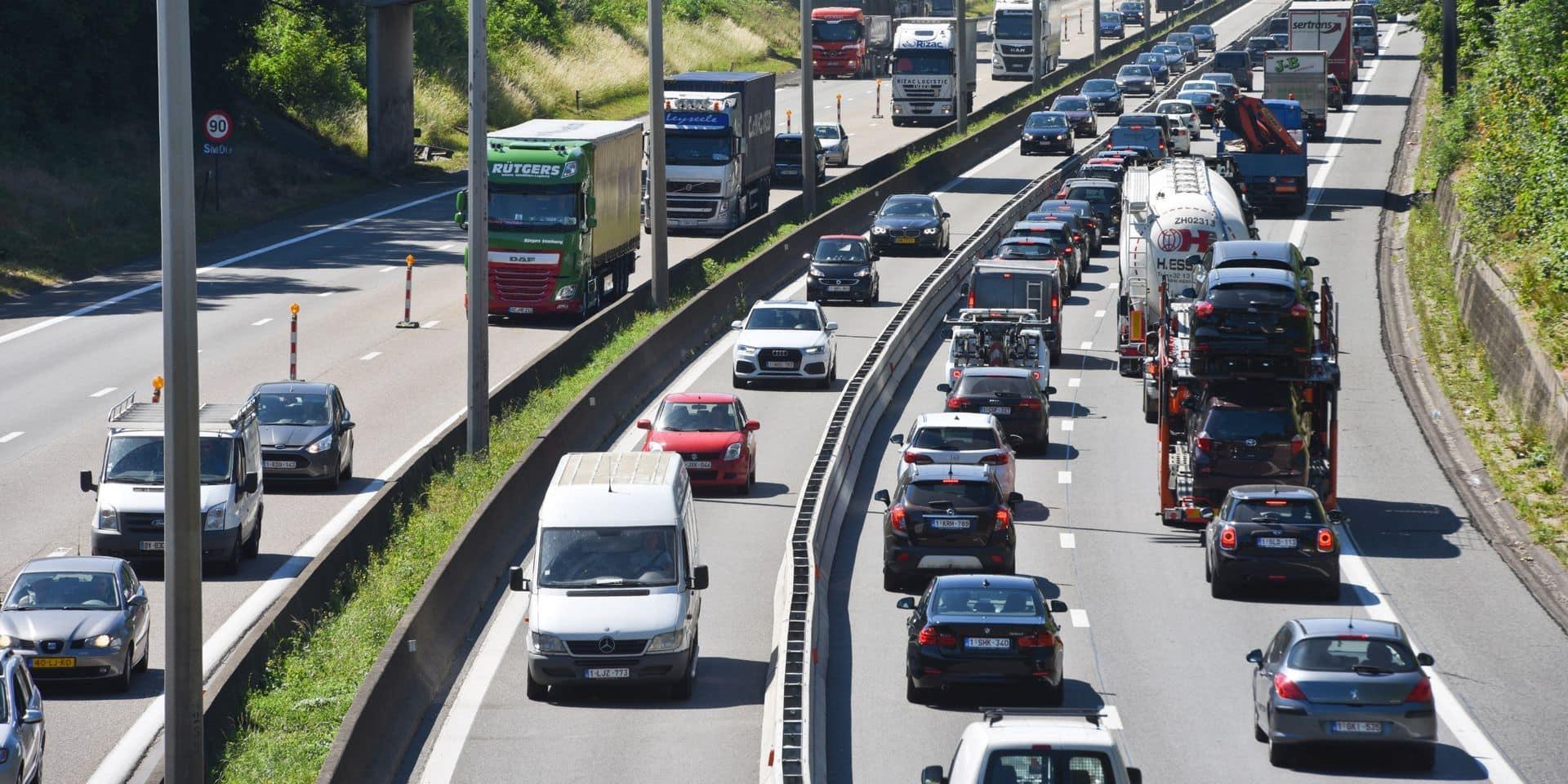 En Wallonie, douze chantiers sont susceptibles de perturber le départ des vacanciers
