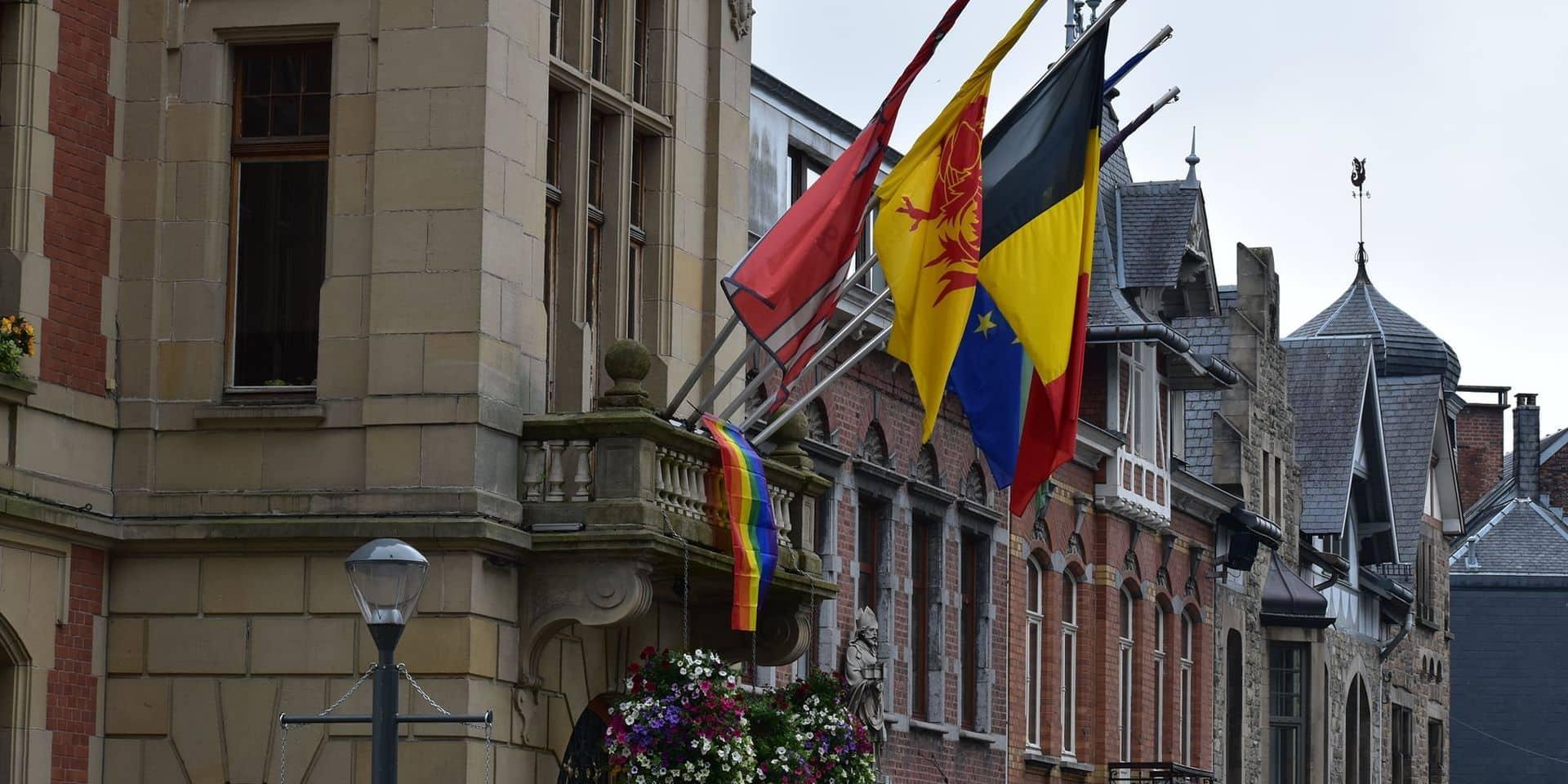 Malmedy arbore le drapeau LGBTQI+