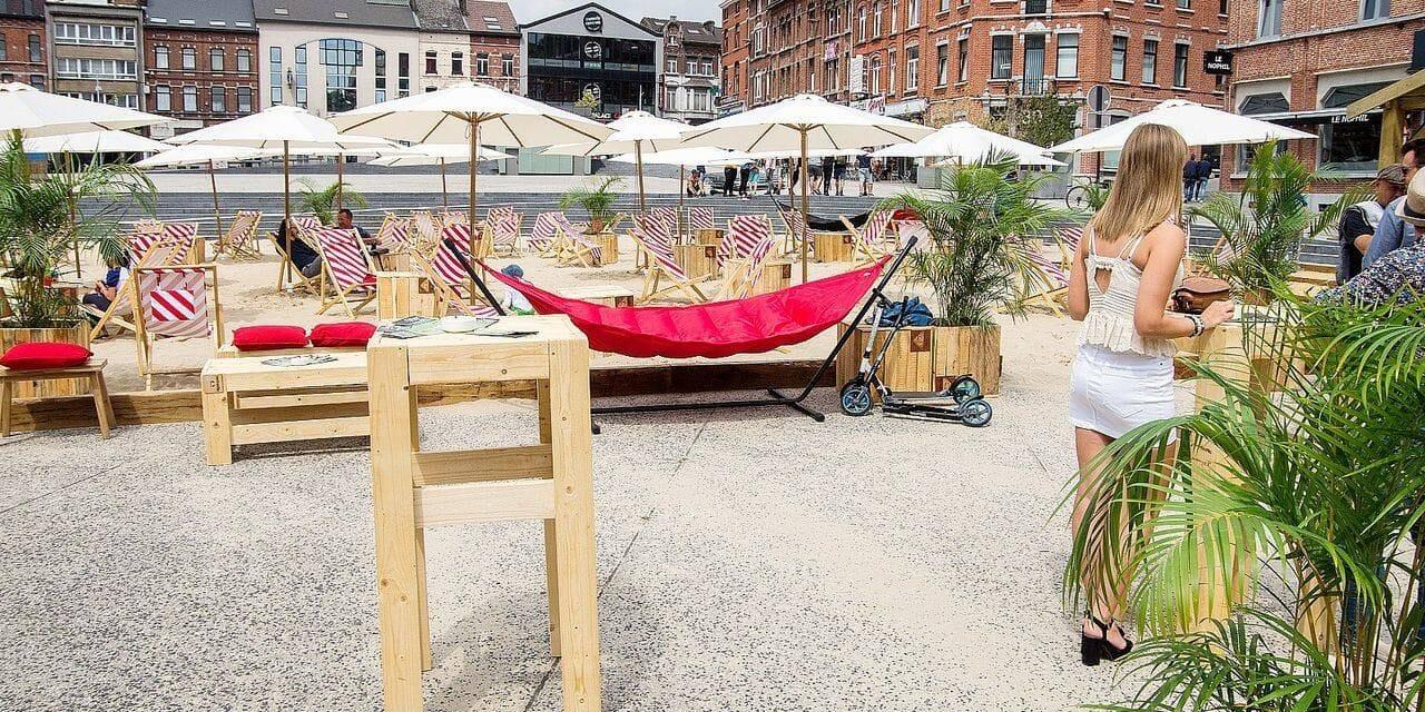 La Ville de Charleroi se sent plutôt optimiste pour organiser des événements extérieurs cet été