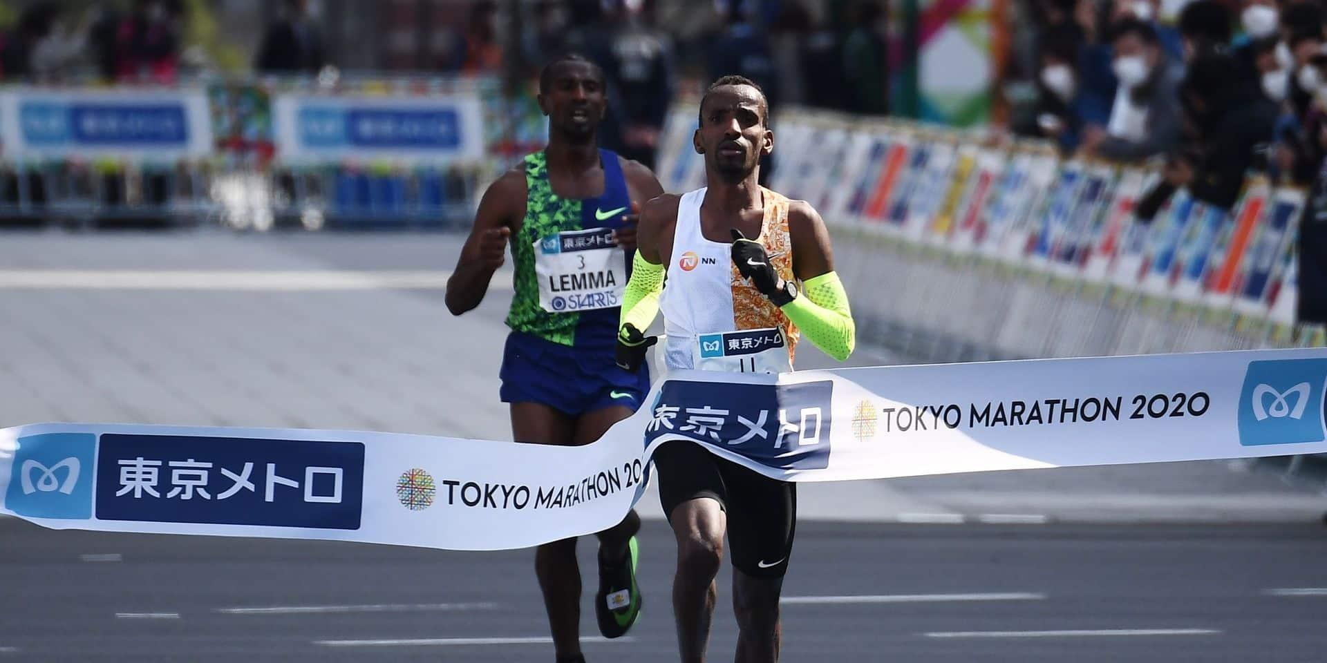 Bashir Abdi est entré dans la cour des grands marathoniens