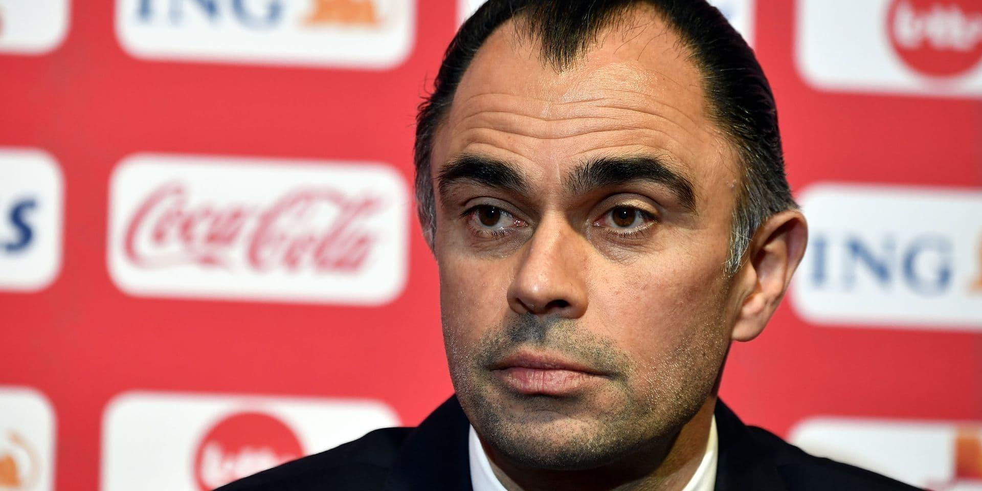 Johan Walem quitte son poste de sélectionneur des Diablotins pour devenir coach de Chypre