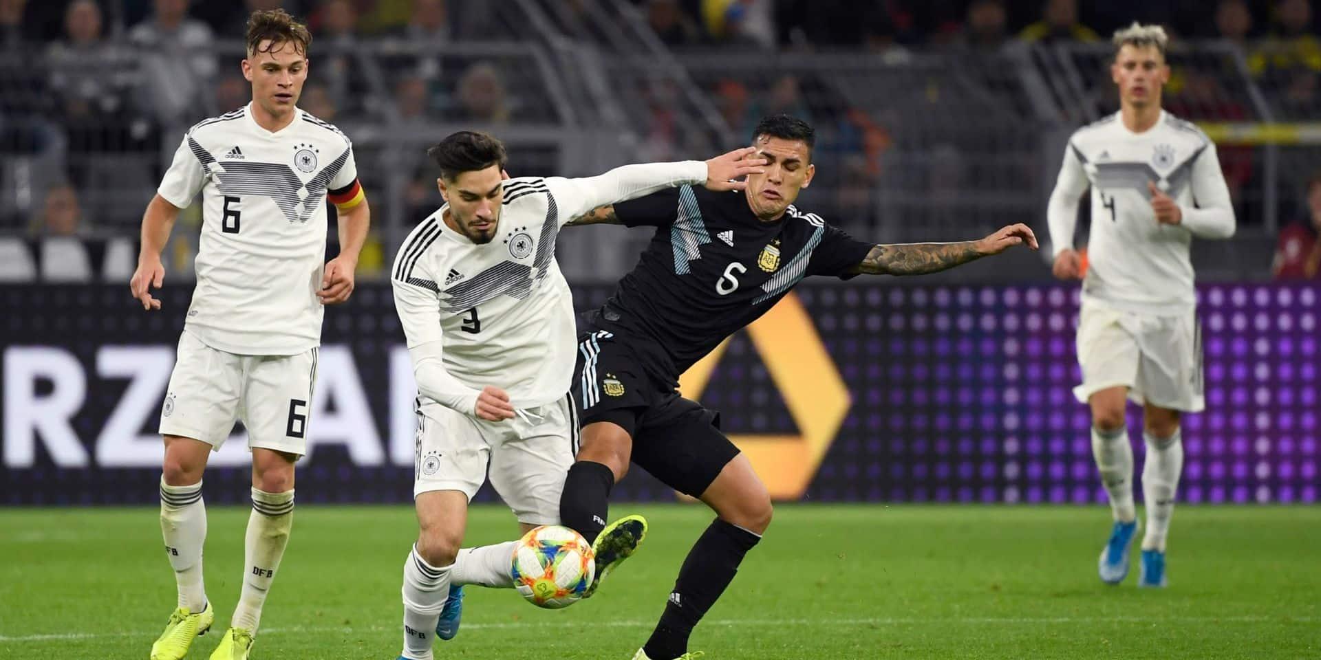 Menée 2 à 0, l'Argentine arrache le match nul (2-2) à l'Allemagne