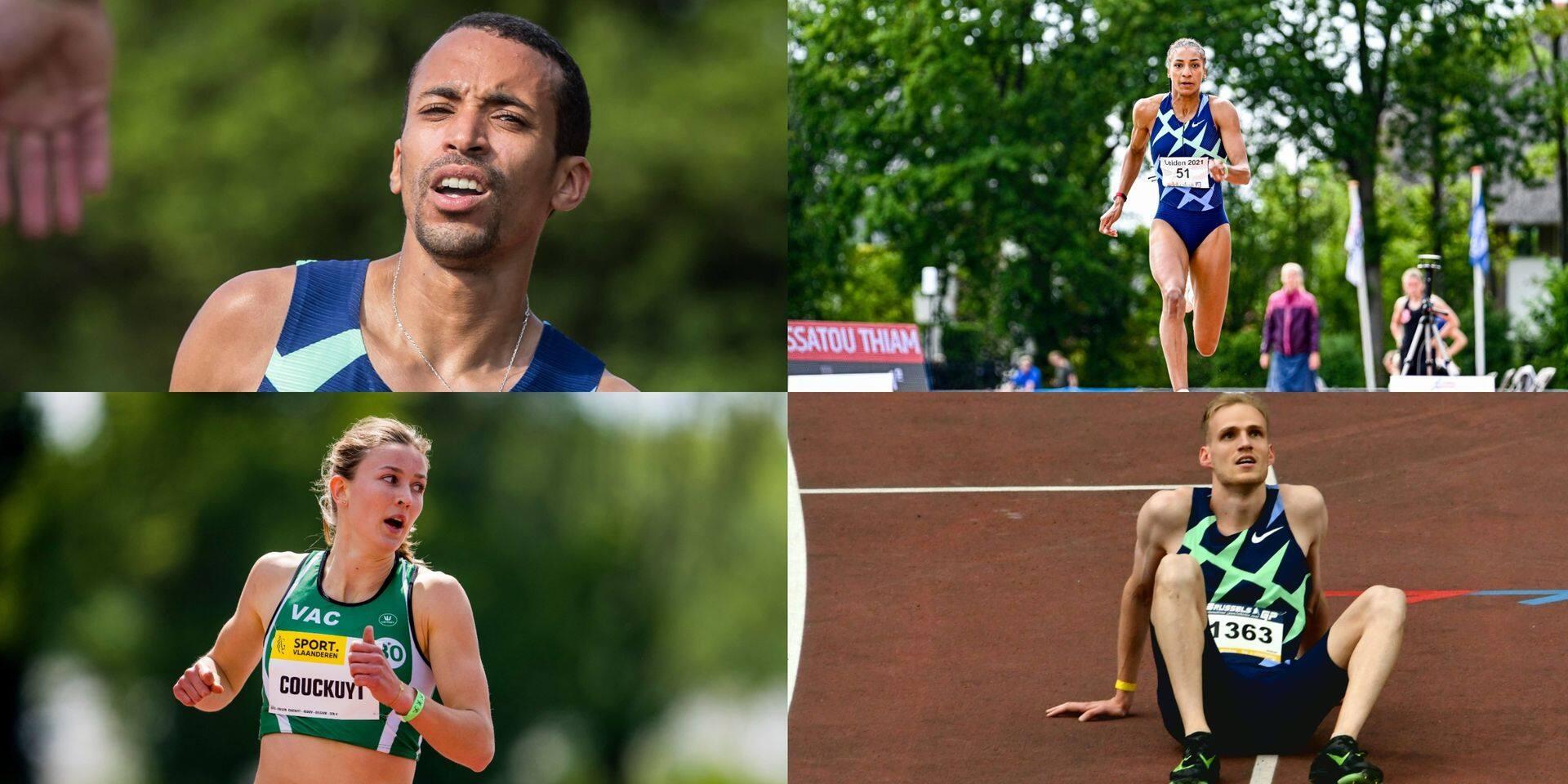 Debjani, Thiam, Couckuyt, Crestan: ces Belges en forme olympique !