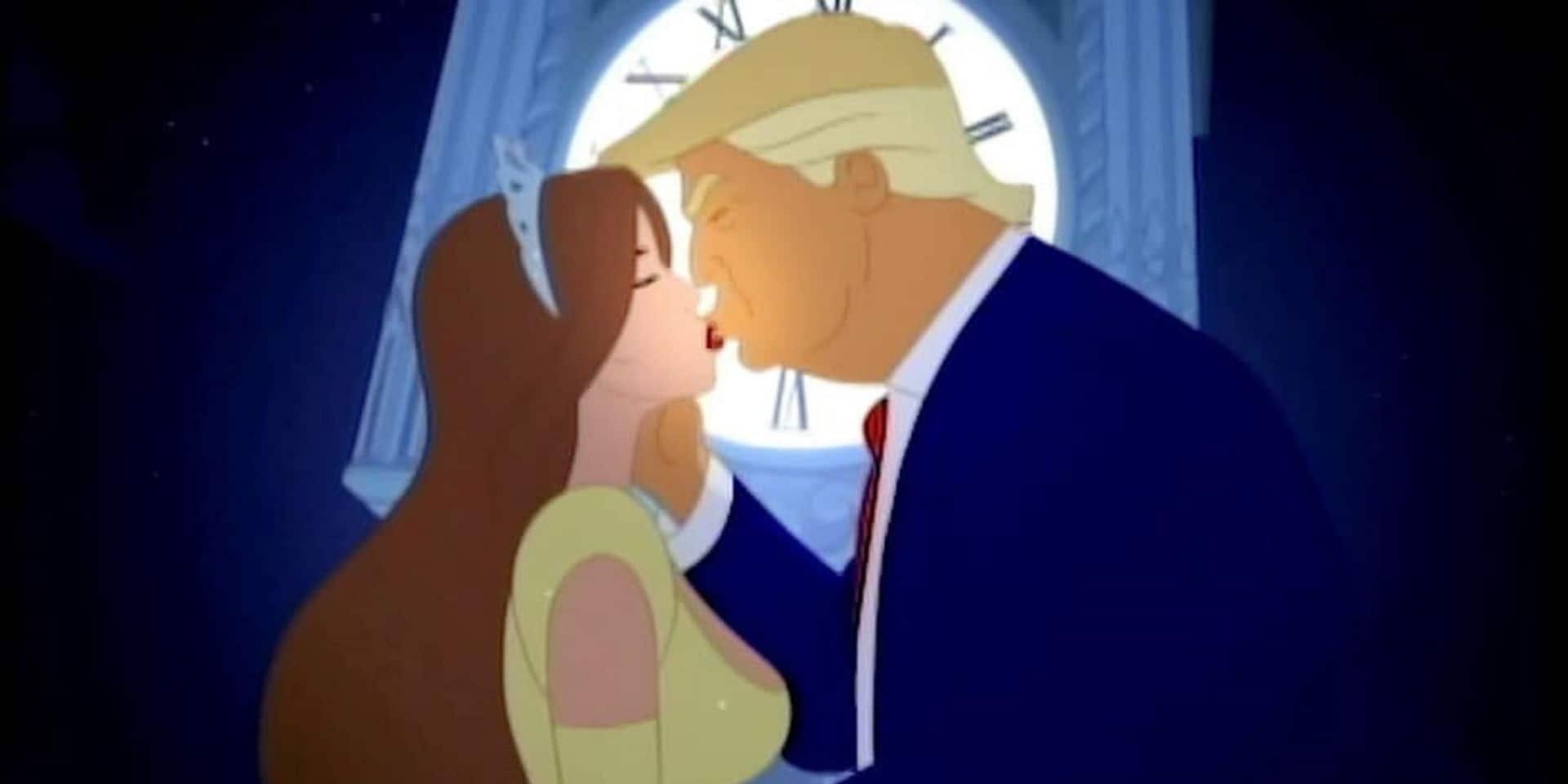 Donald Trump et Melania dans une parodie très crue de Cendrillon