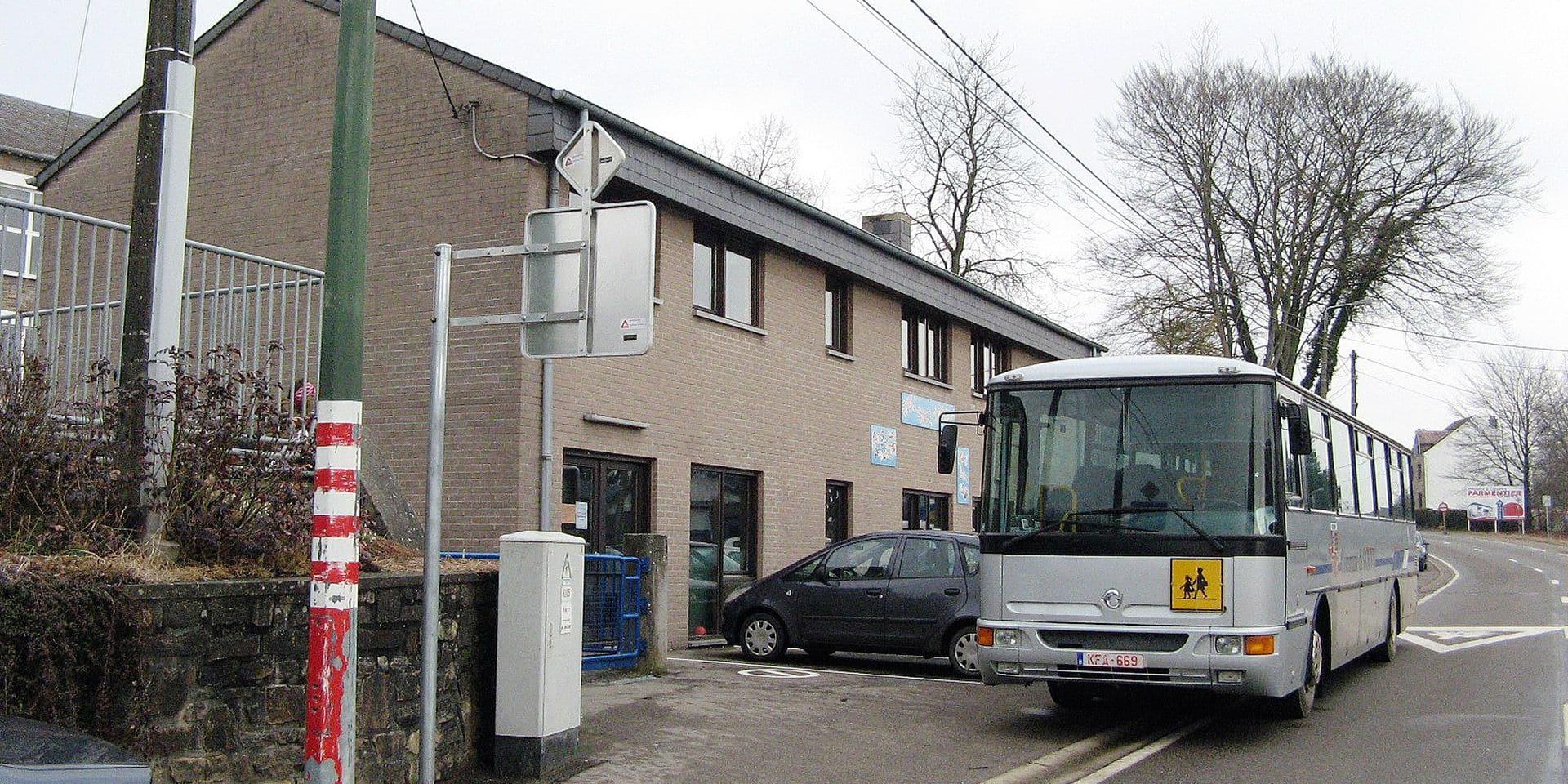 Le bus communal réservé aux écoles