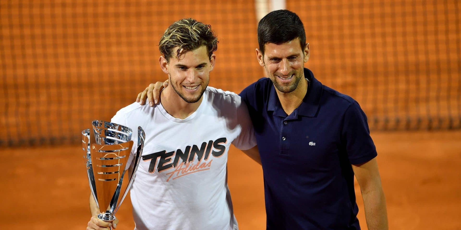 """Le manager de Thiem très dur envers Djokovic: """"C'est le seul qui devrait s'excuser"""""""