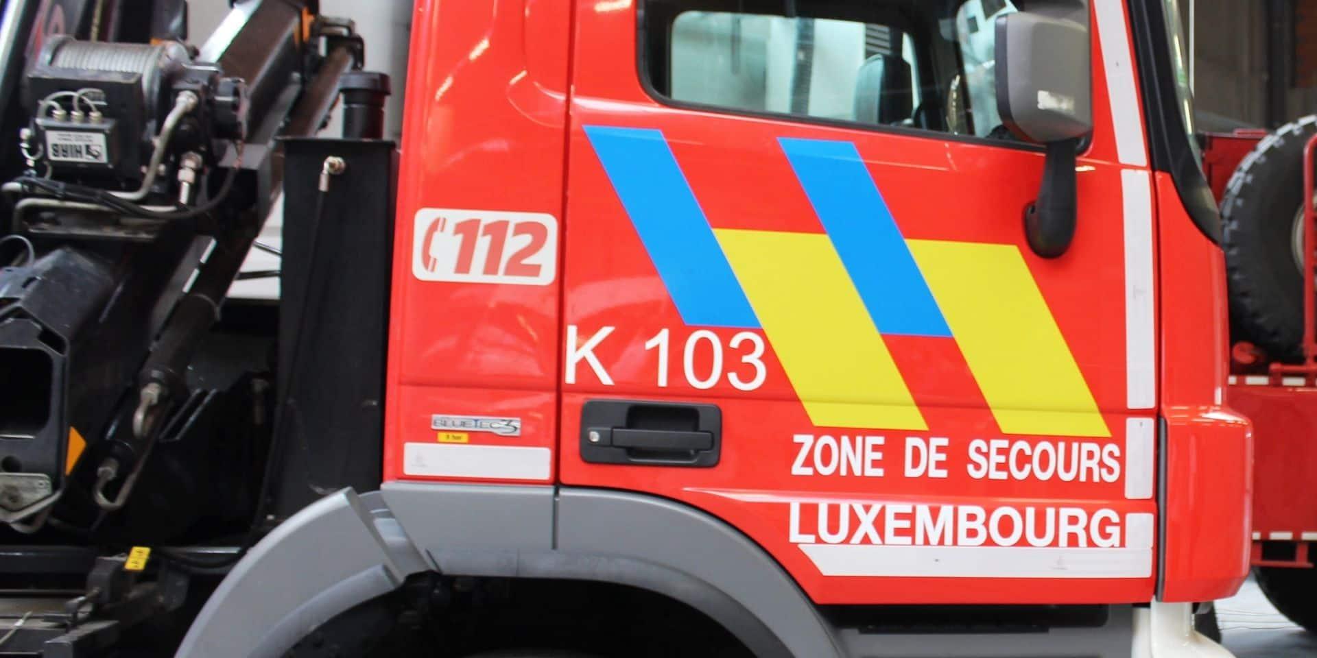 Début d'incendie à Libramont : des pompiers de trois postes sont intervenus