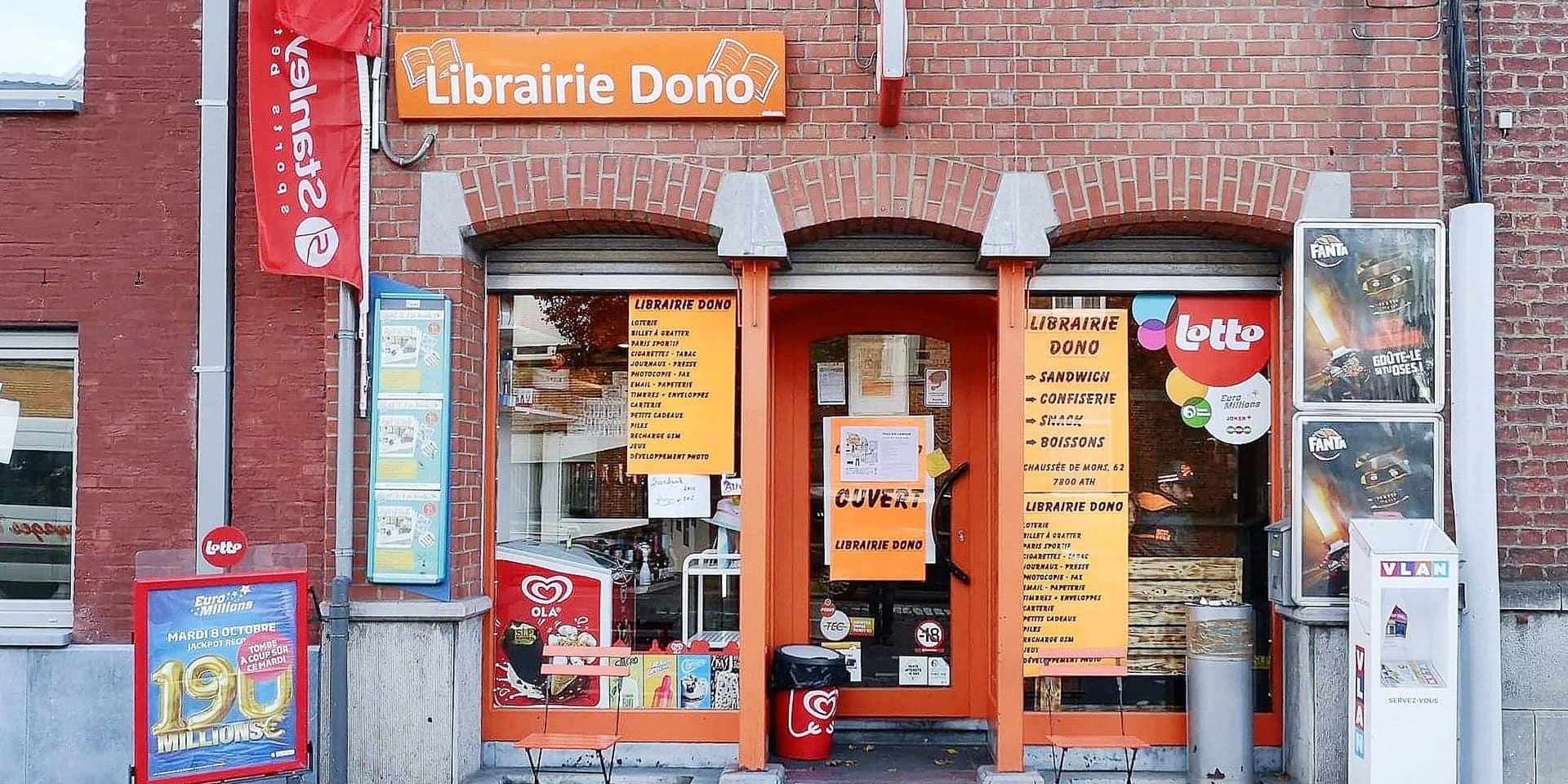 Ath : La librairie, c'est désormais toute sa vie !