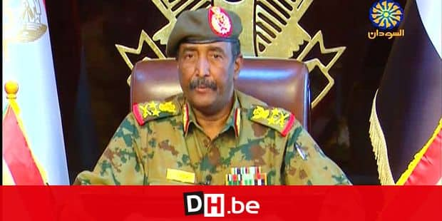 "A grab from a broadcast on Sudan TV on April 13, 2019 shows Lieutenant General Abdel Fattah al-Burhan Abdulrahman, new chief of Sudan's ruling military council, in the capital Khartoum. (Photo by - / Sudan TV / AFP) / == RESTRICTED TO EDITORIAL USE - MANDATORY CREDIT ""AFP PHOTO / HO / SUDAN TV"" - NO MARKETING NO ADVERTISING CAMPAIGNS - DISTRIBUTED AS A SERVICE TO CLIENTS =="