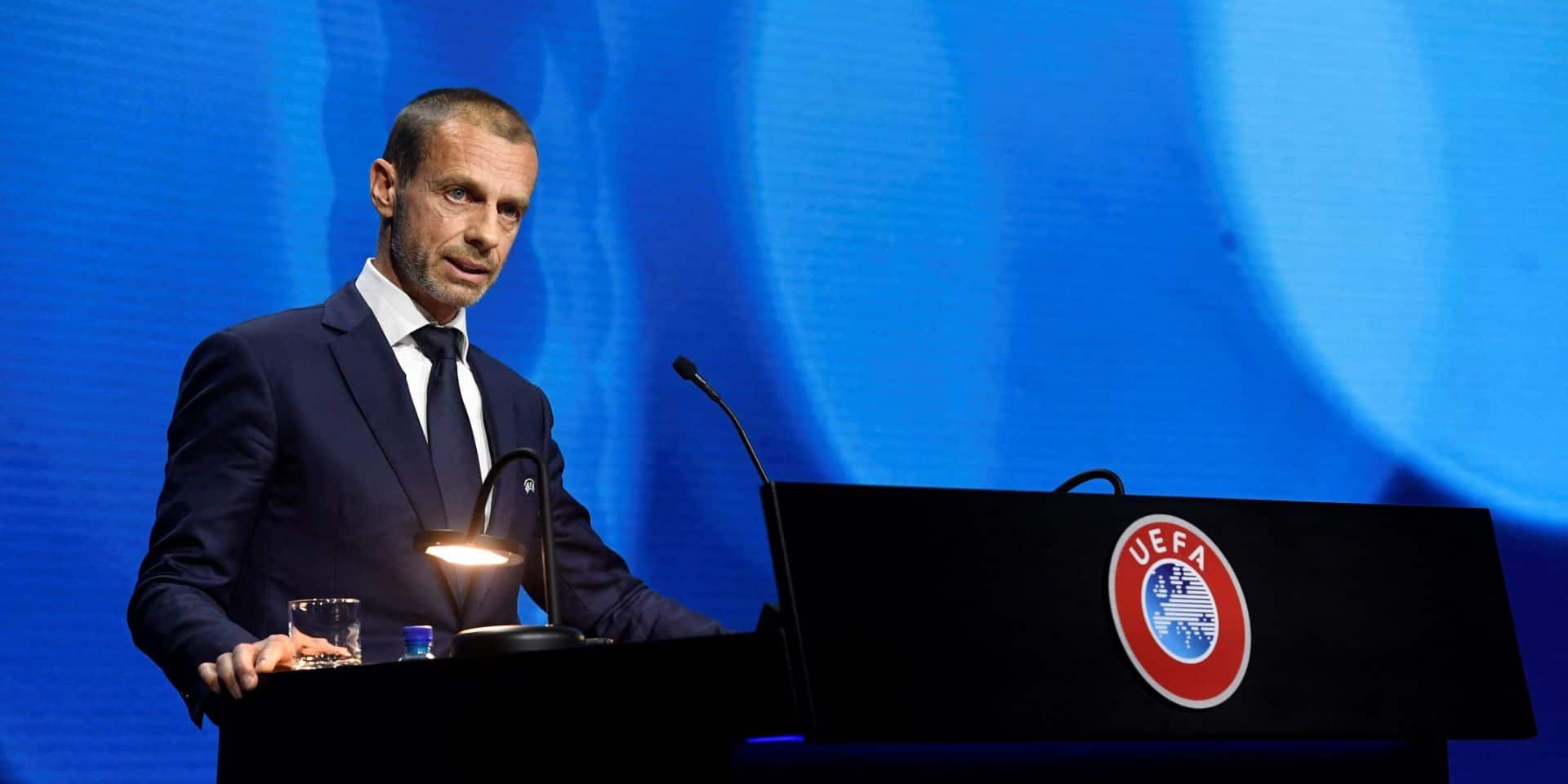 Super League: Aleksander Ceferin assure qu'il y aura des sanctions contre les promoteurs