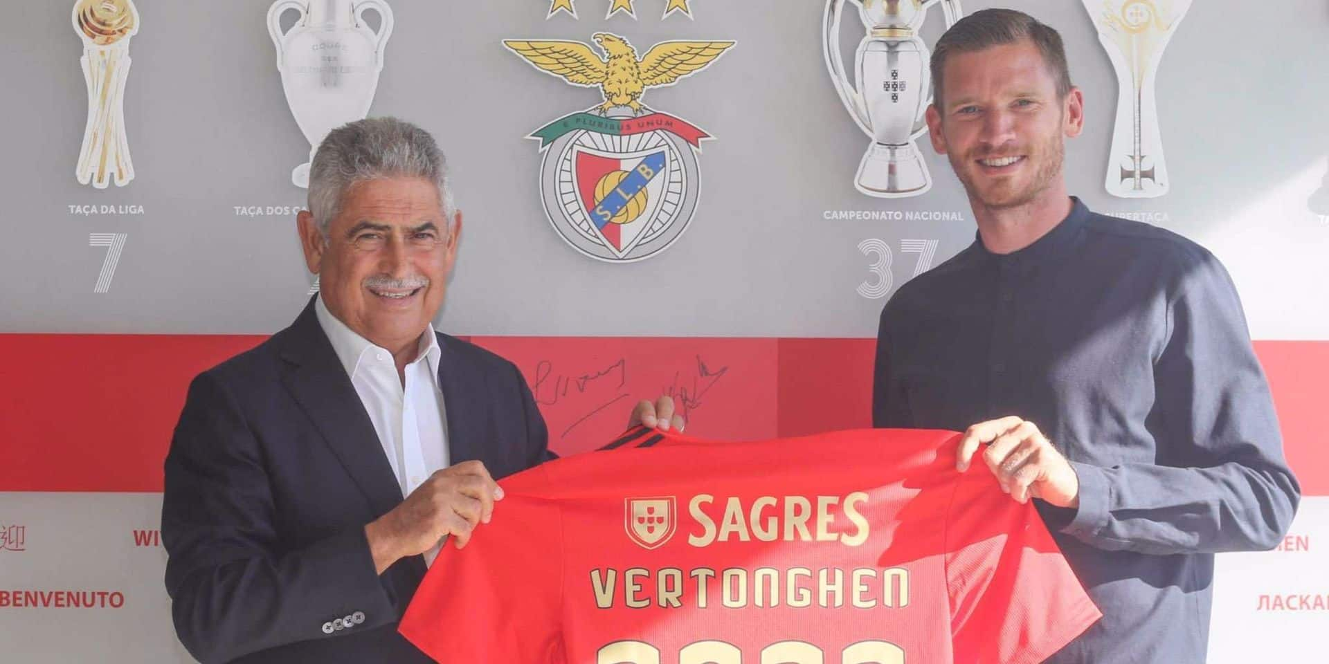 Officiel: Vertonghen s'engage à Benfica