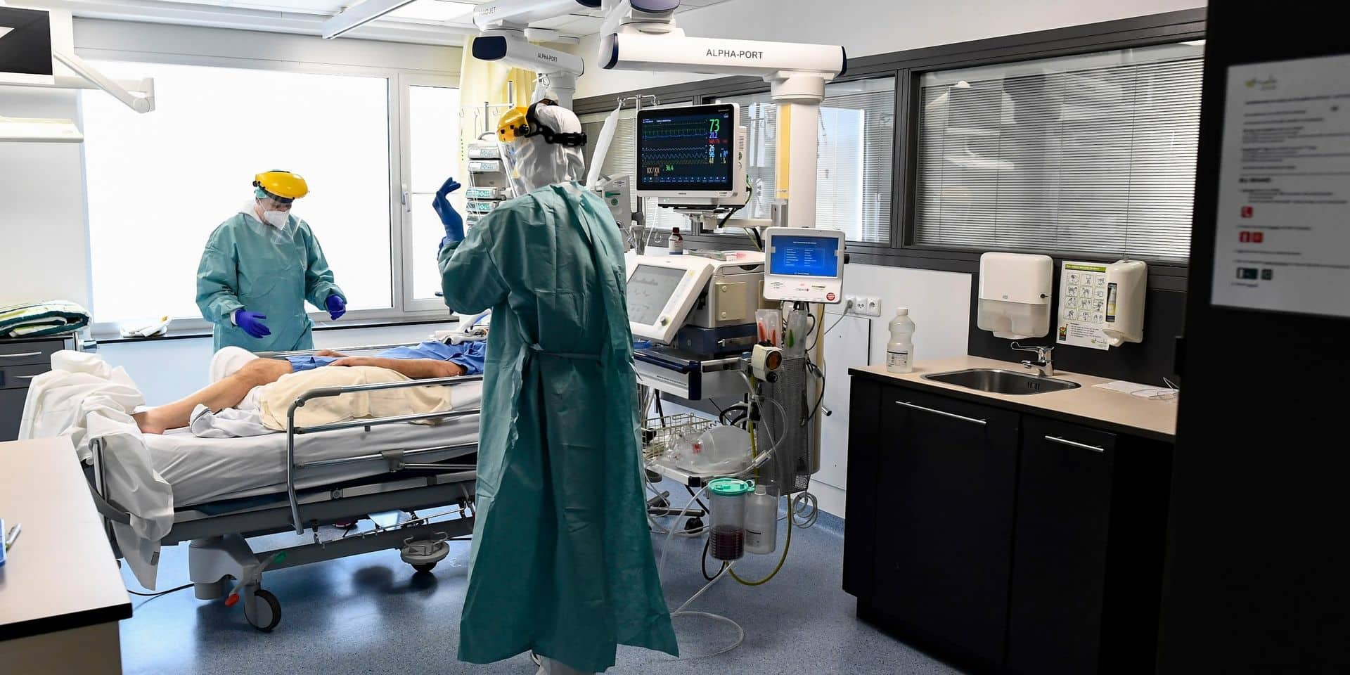 Le terrible cap est franchi: le nombre de nouvelles hospitalisations dépasse celui du pic du 28 mars