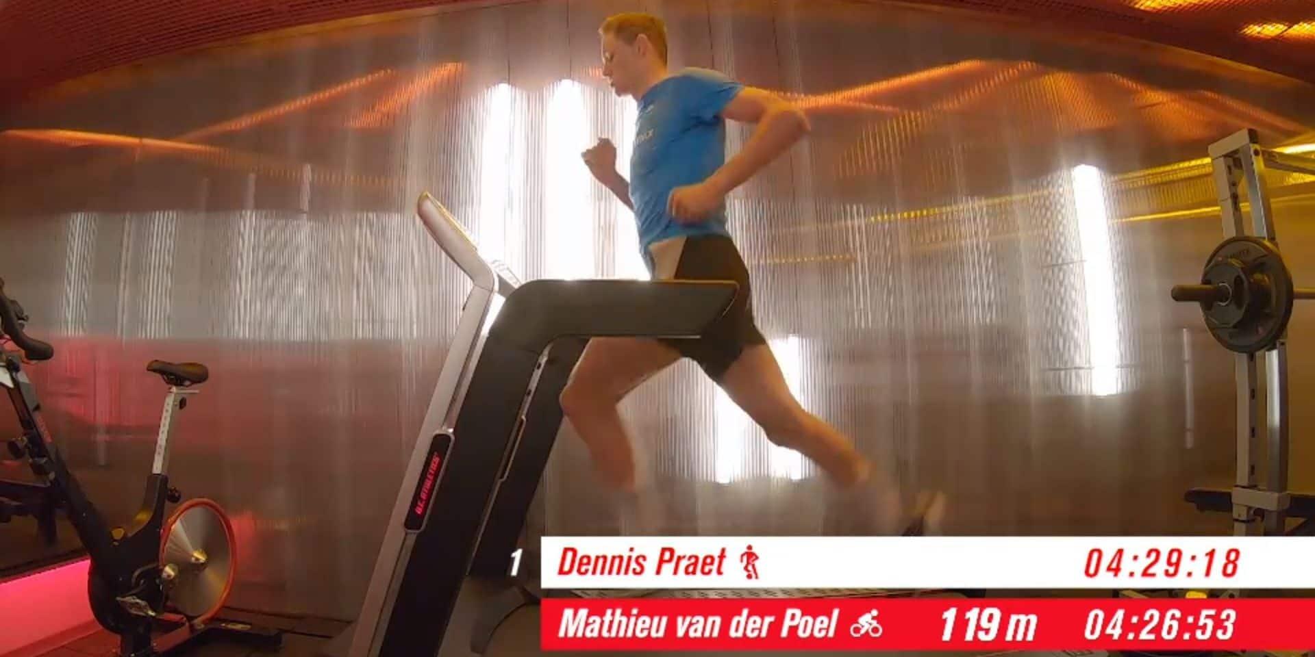 Quand Mathieu Van der Poel bat tous les sportifs belges lors d'un heptathlon original