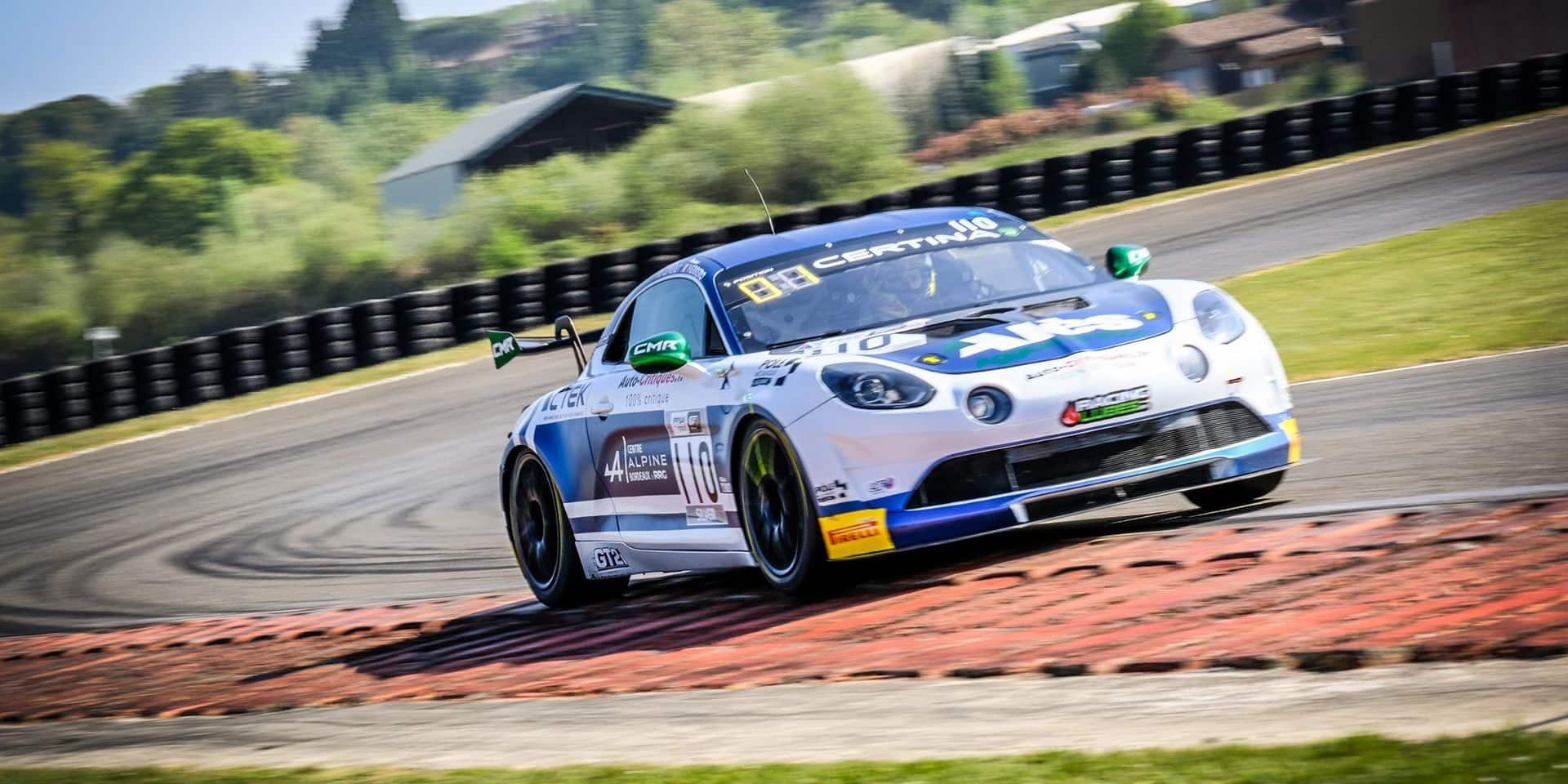 FFSA GT Nogaro: Troisième place absolue et médaille d'argent en Silver pour Stéphane Lémeret en course 2