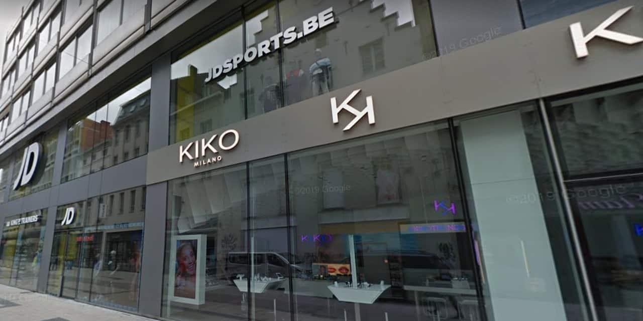 Le magasin JD Sport de la rue Neuve est ouvert malgré un cas avéré de Covid au sein du personnel