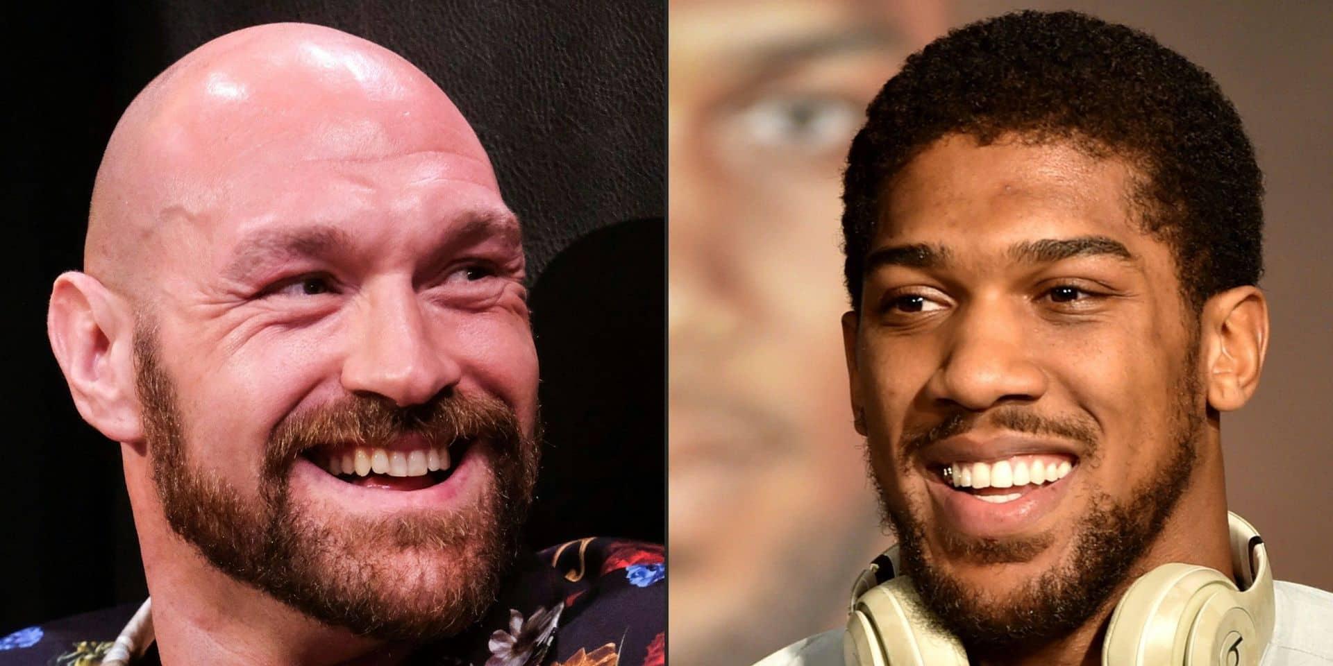 Boxe : Tyson Fury annonce un combat de réunification contre Anthony Joshua le 14 août en Arabie saoudite
