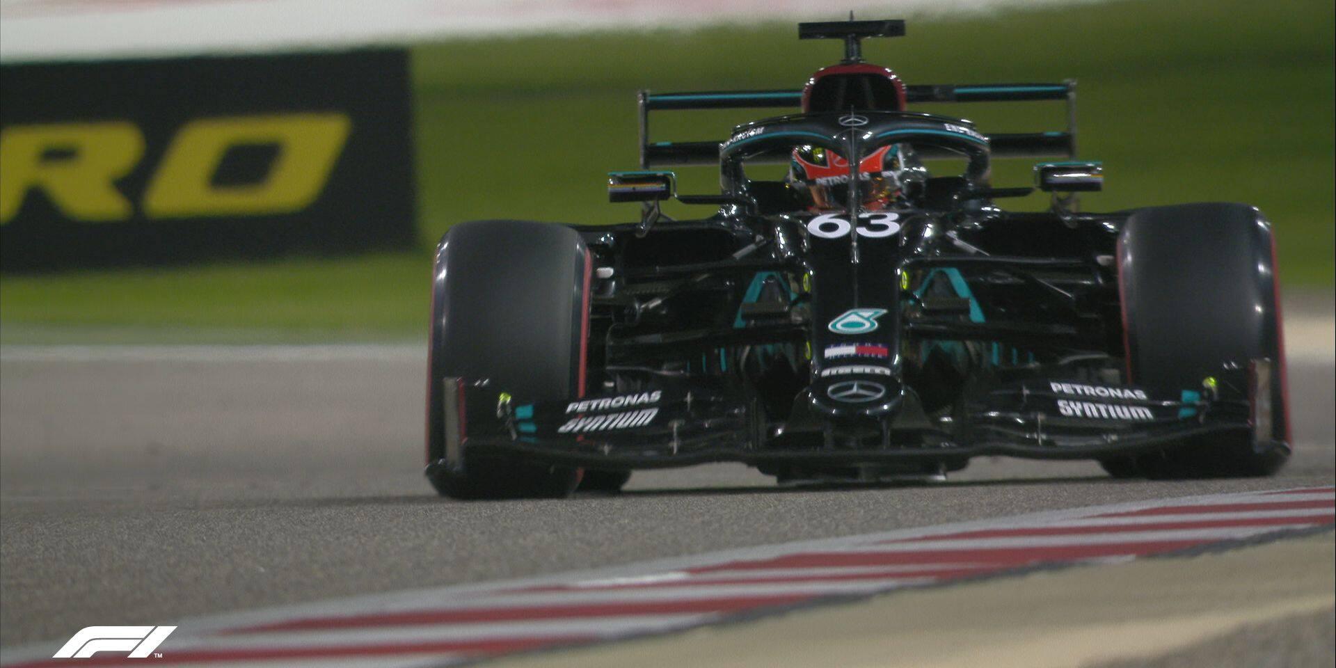 GP de Sakhir (Libres 1): Russell déjà devant pour ses débuts avec Mercedes