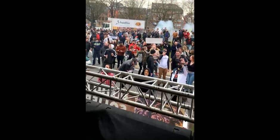 Namur : des DJ font danser des centaines de personnes en ce moment au Grognon