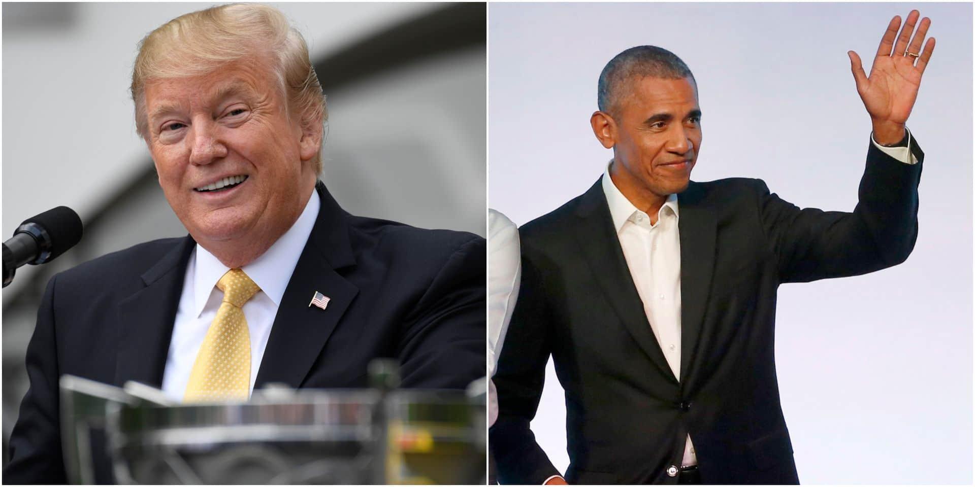 Une série sur Trump réalisée par... Barack Obama