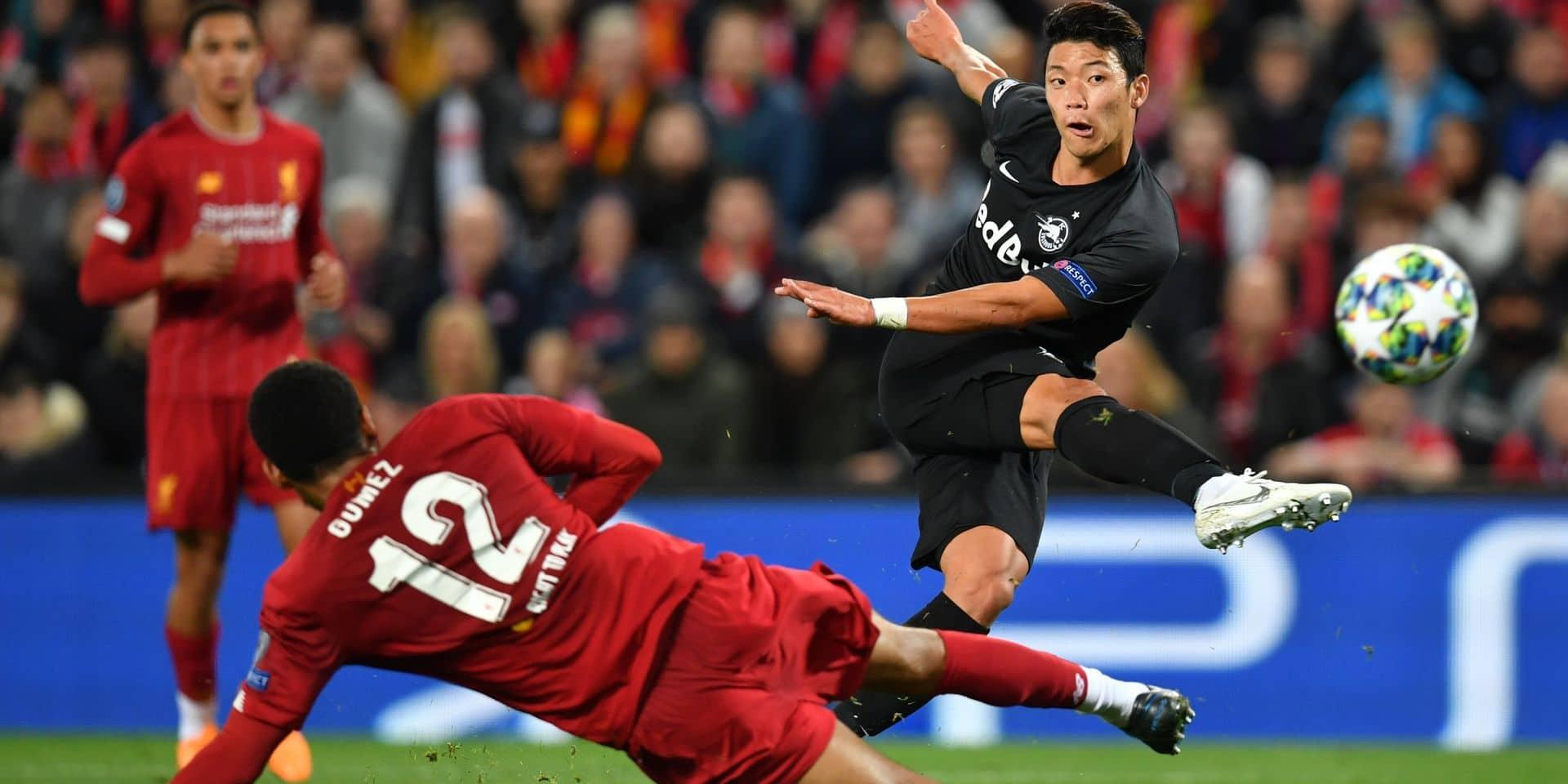 Ligue des champions: Luis Suarez offre la victoire au Barça 2-1, Liverpool s'est fait peur contre Salzbourg 4-3