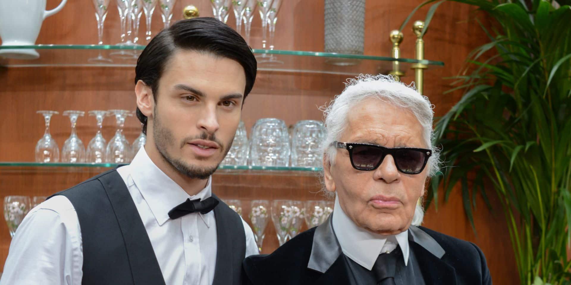 Le dernier hommage de Baptiste Giabiconi à Karl Lagerfeld