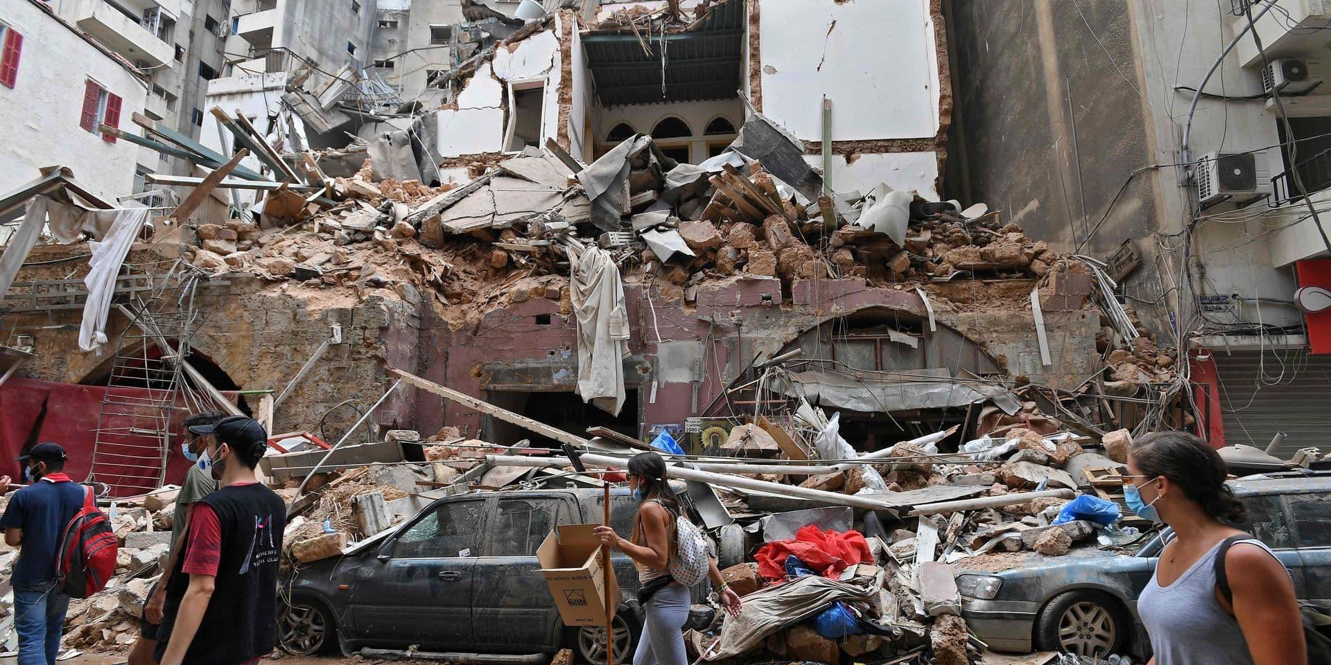 Explosions à Beyrouth: un nouveau bilan fait état de 6.000 blessés et 158 morts