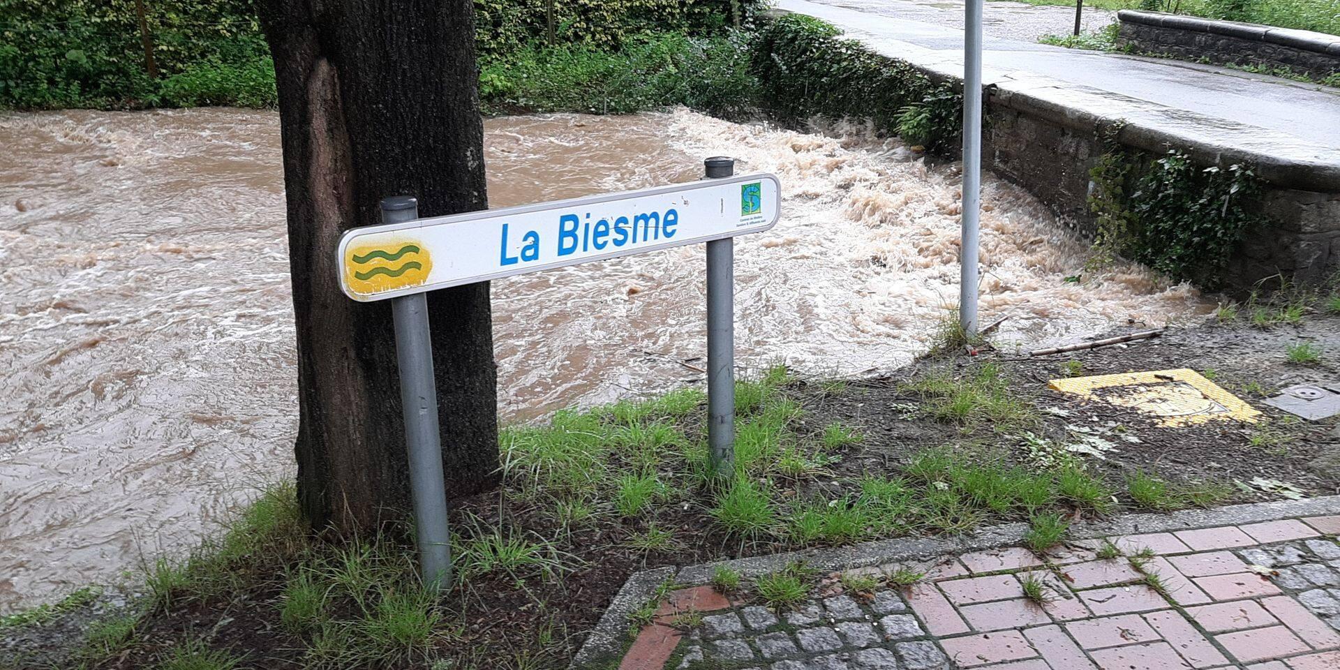 Un homme porté disparu après une chute dans la Biesme à Châtelet