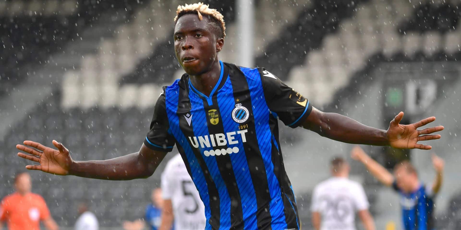 Les attaquants du Club de Bruges en panne sèche: deux buts marqués en 2020
