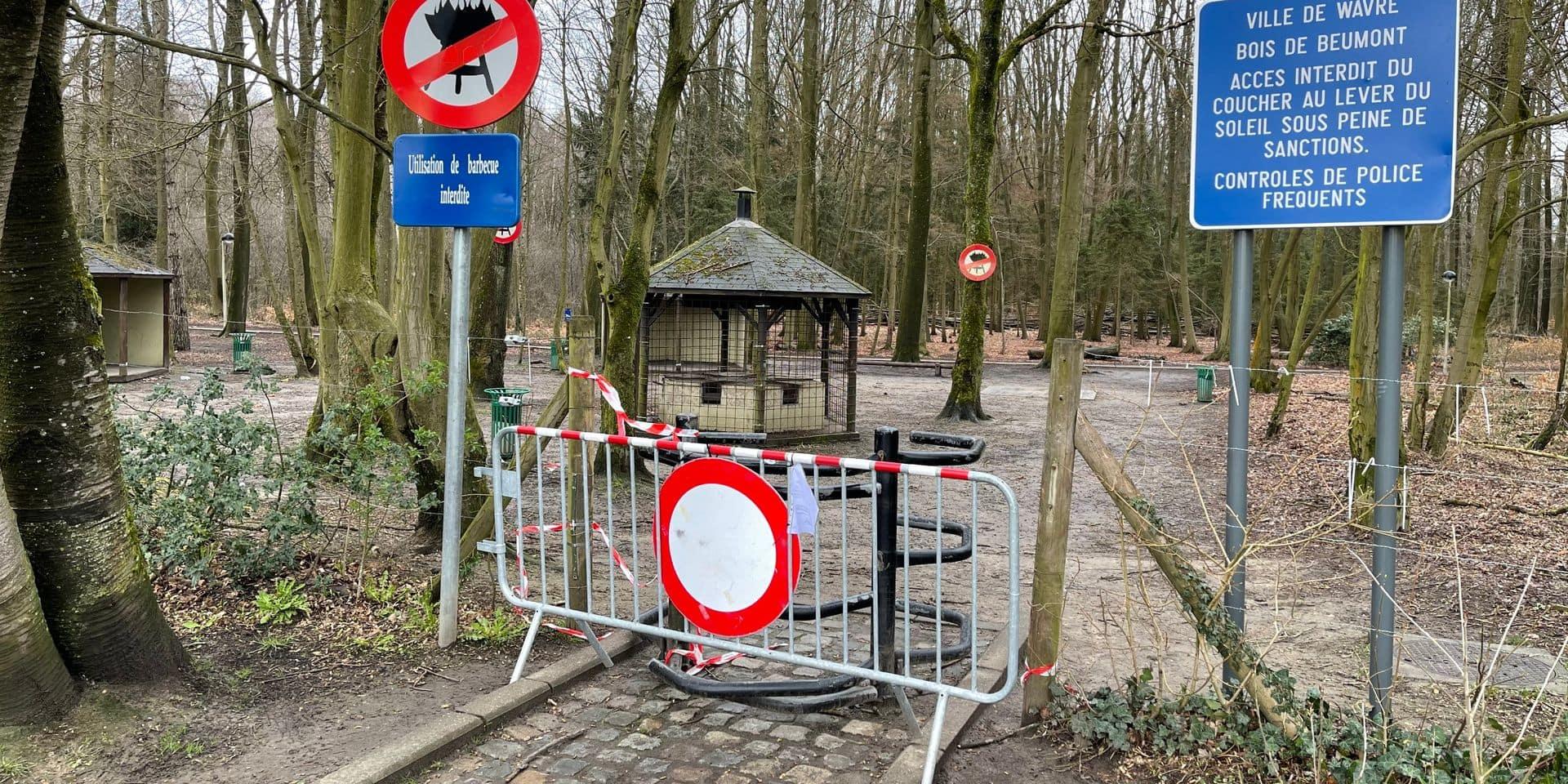 La fermeture du Bois de Beumont prolongée de deux semaines à Wavre