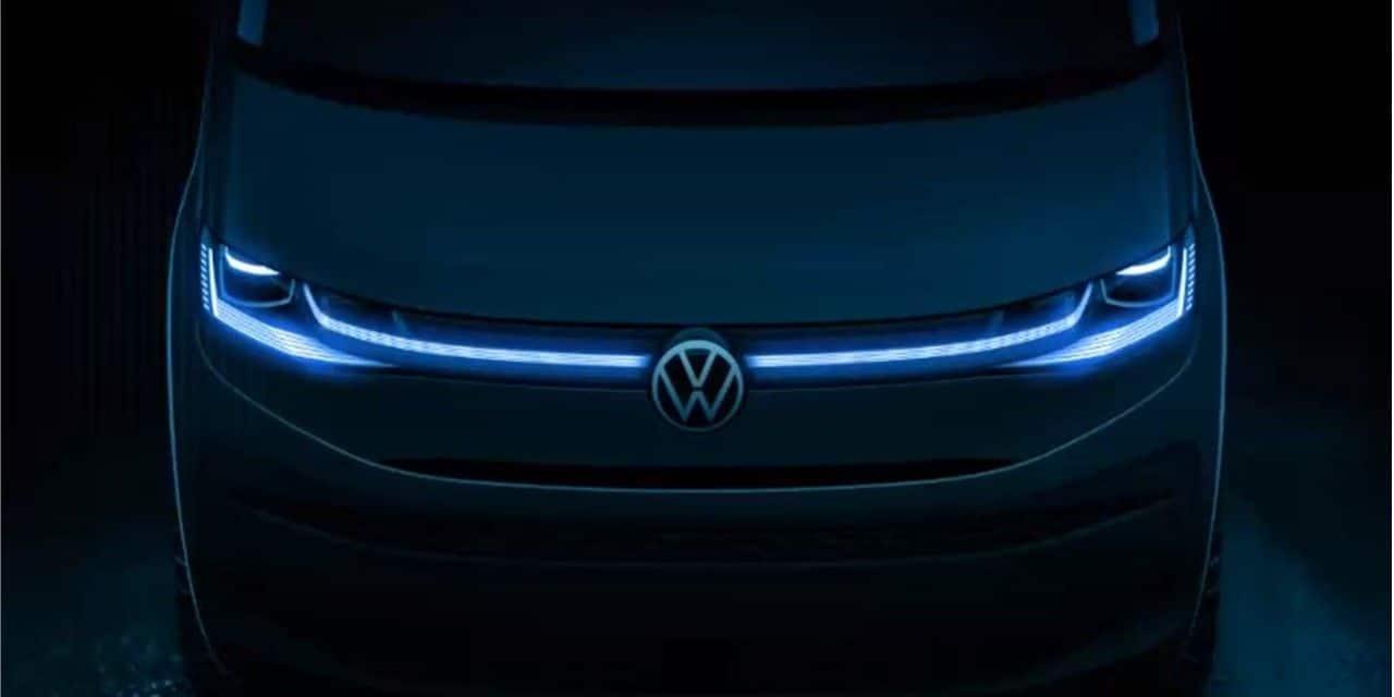 Le nouveau Volkswagen Multivan s'annonce particulièrement technologique !