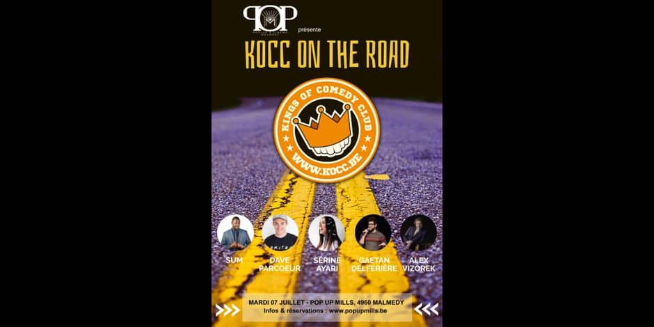 Gagnez vos places pour le spectacle KOCC (Kings of Comedy Club) On the Road au Pop Up Mills