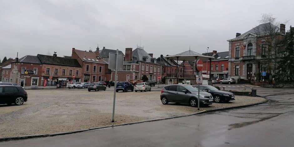 Lancement des démarches pour le réaménagement des trois places d'Écaussinnes