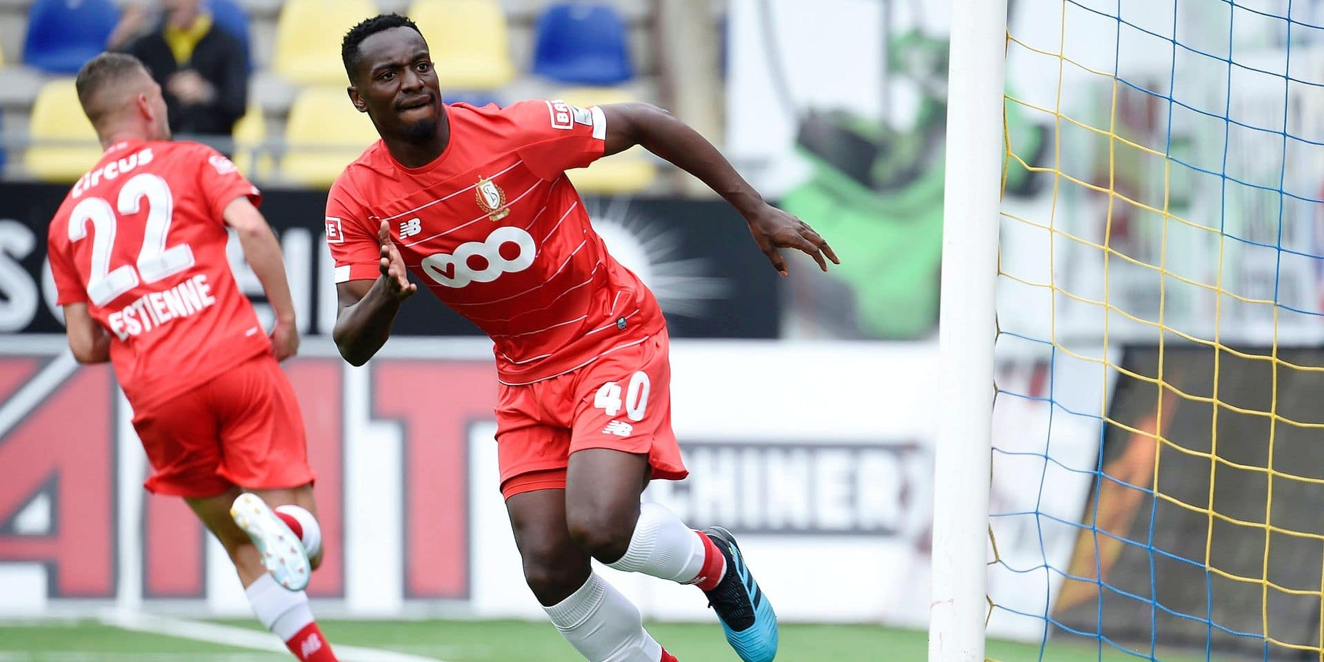 SINT-TRUIDEN, BELGIUM - AUGUST 11 : Paul-Jose Mpoku midfielder of Standard Liege pictured during the Jupiler Pro League match between Sint Truinden and Standard de Liege on August 11, 2019 in Sint-Truiden, Belgium, 11/08/2019 ( Photo by Philippe Crochet / Photonews