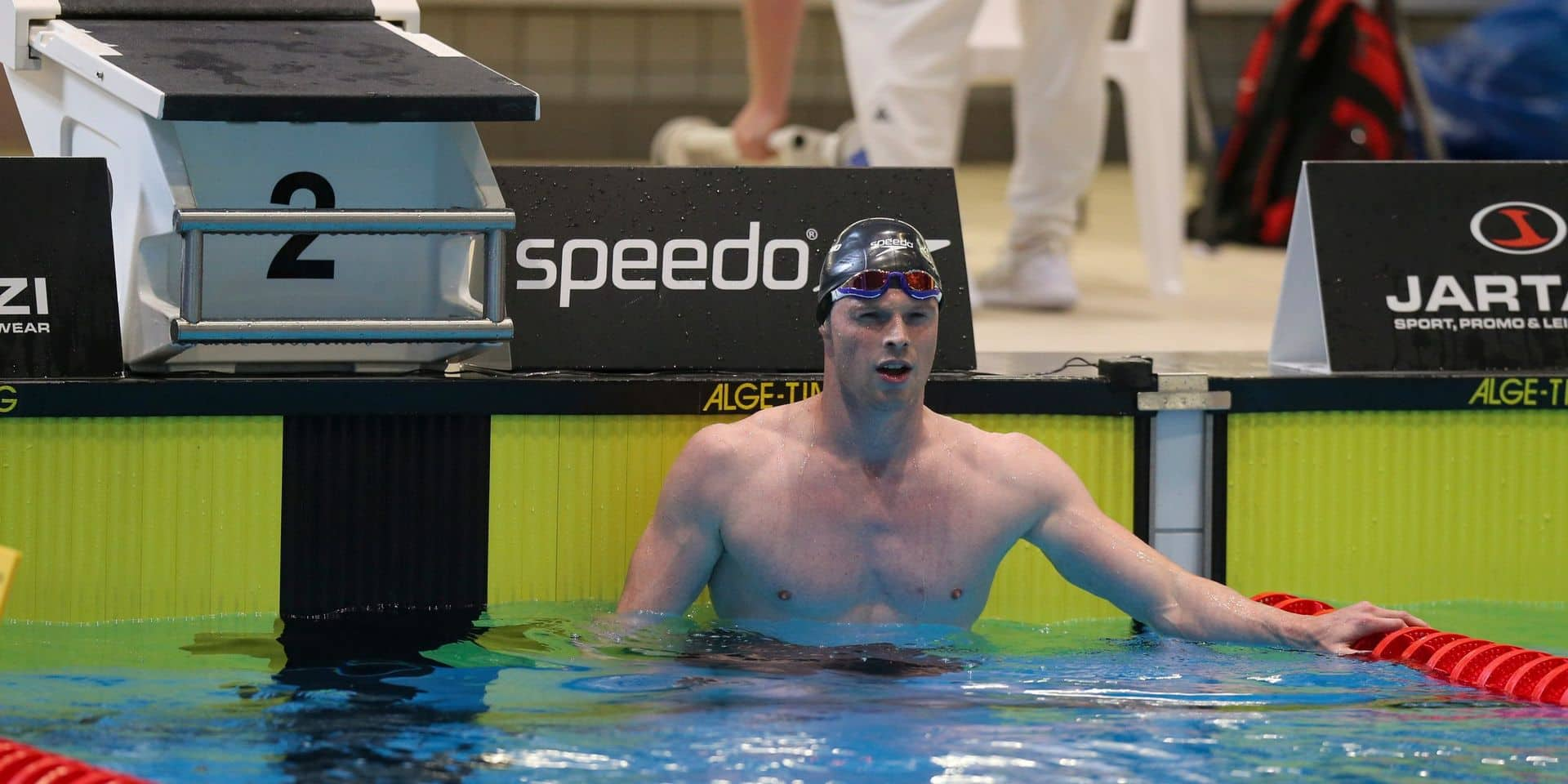 Euro de natation : Louis Croenen se qualifie pour les demi-finales sur 100m papillon