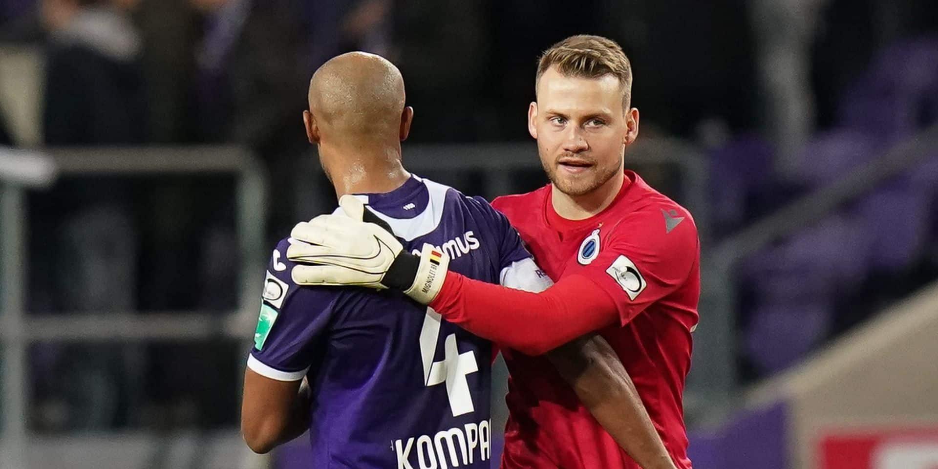 Jet de pétard vers Simon Mignolet et chants homophobes lors du 'topper': Anderlecht risque... 2500 euros d'amende