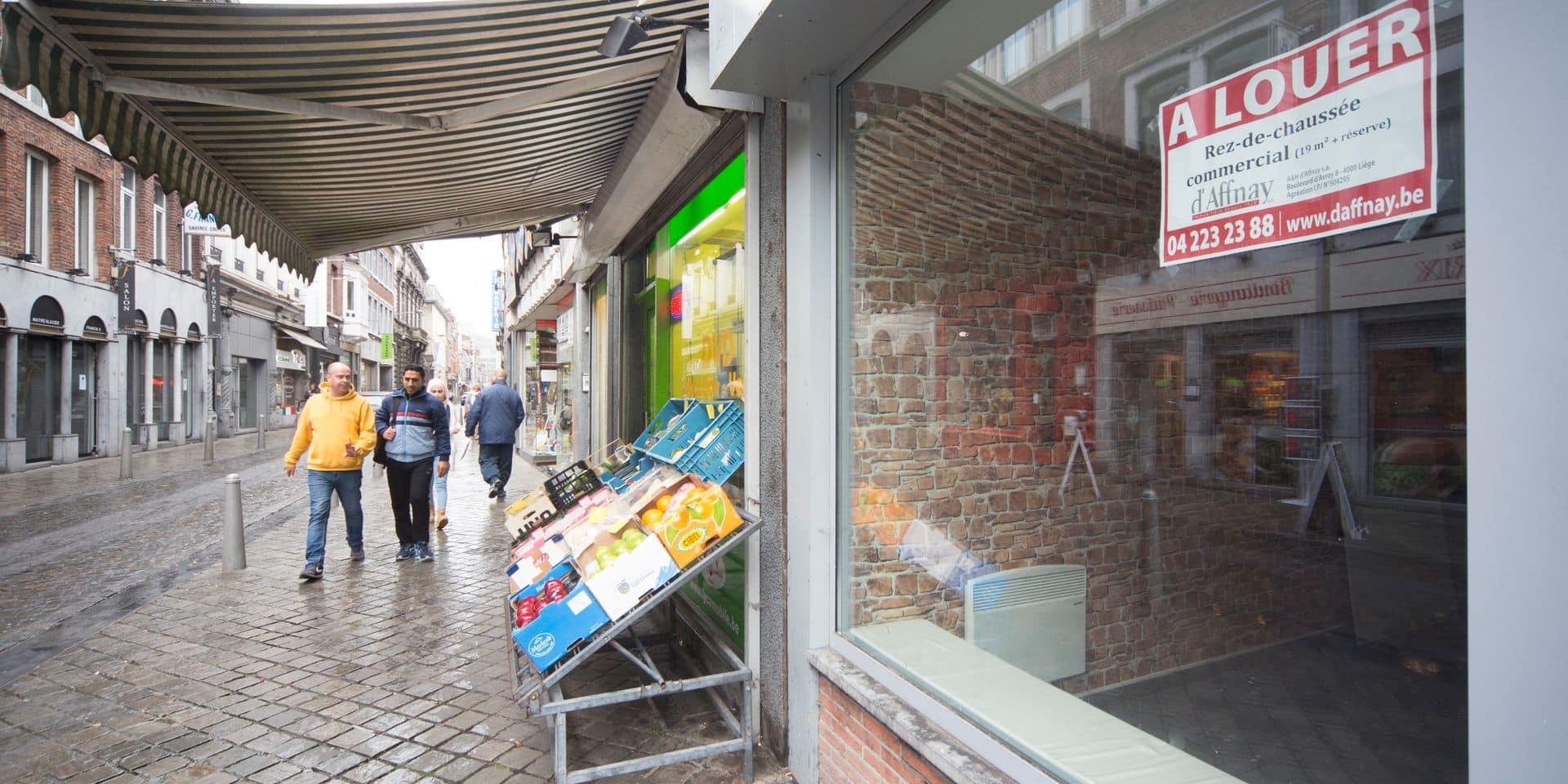 Liège - Rue Saint-Gilles - Commerces