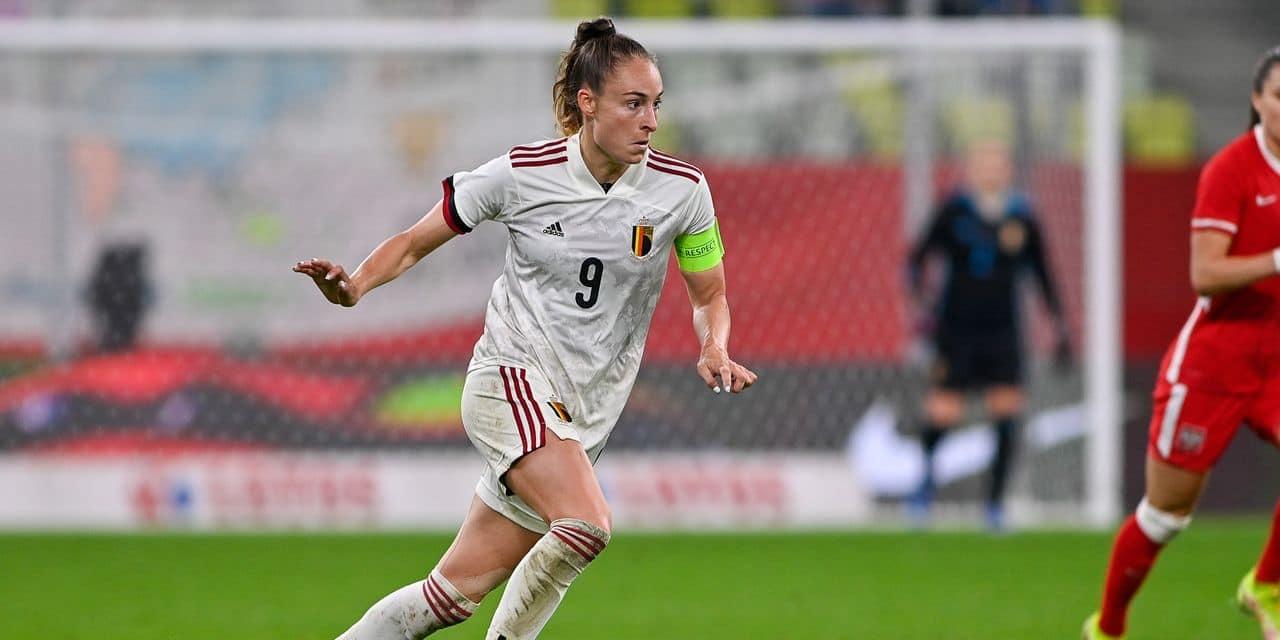 """Tessa Wullaert avant Belgique-Albanie : """"Je ne me vois pas encore jouer six ans en Belgique"""""""