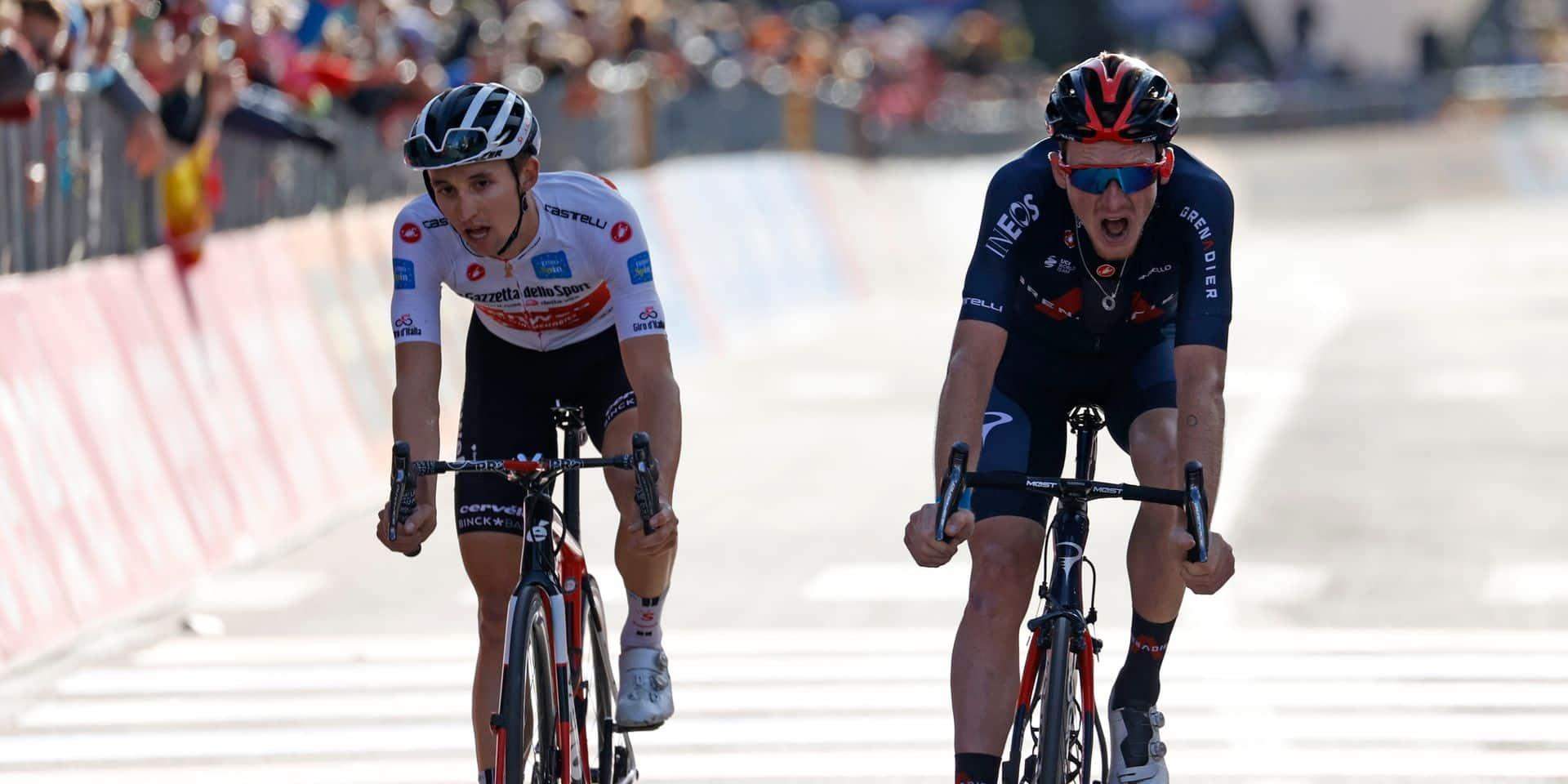 Le suspense est total au Giro: le maillot rose va se jouer pour quelques secondes