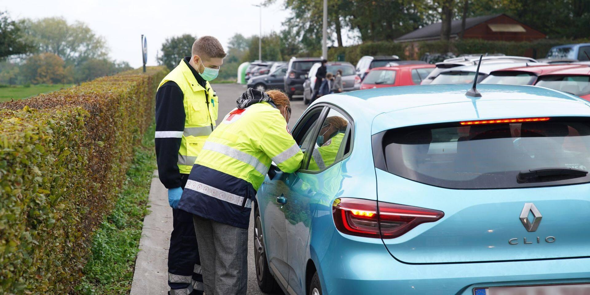 Les contaminations de Covid-19 en forte hausse dans le Brabant wallon