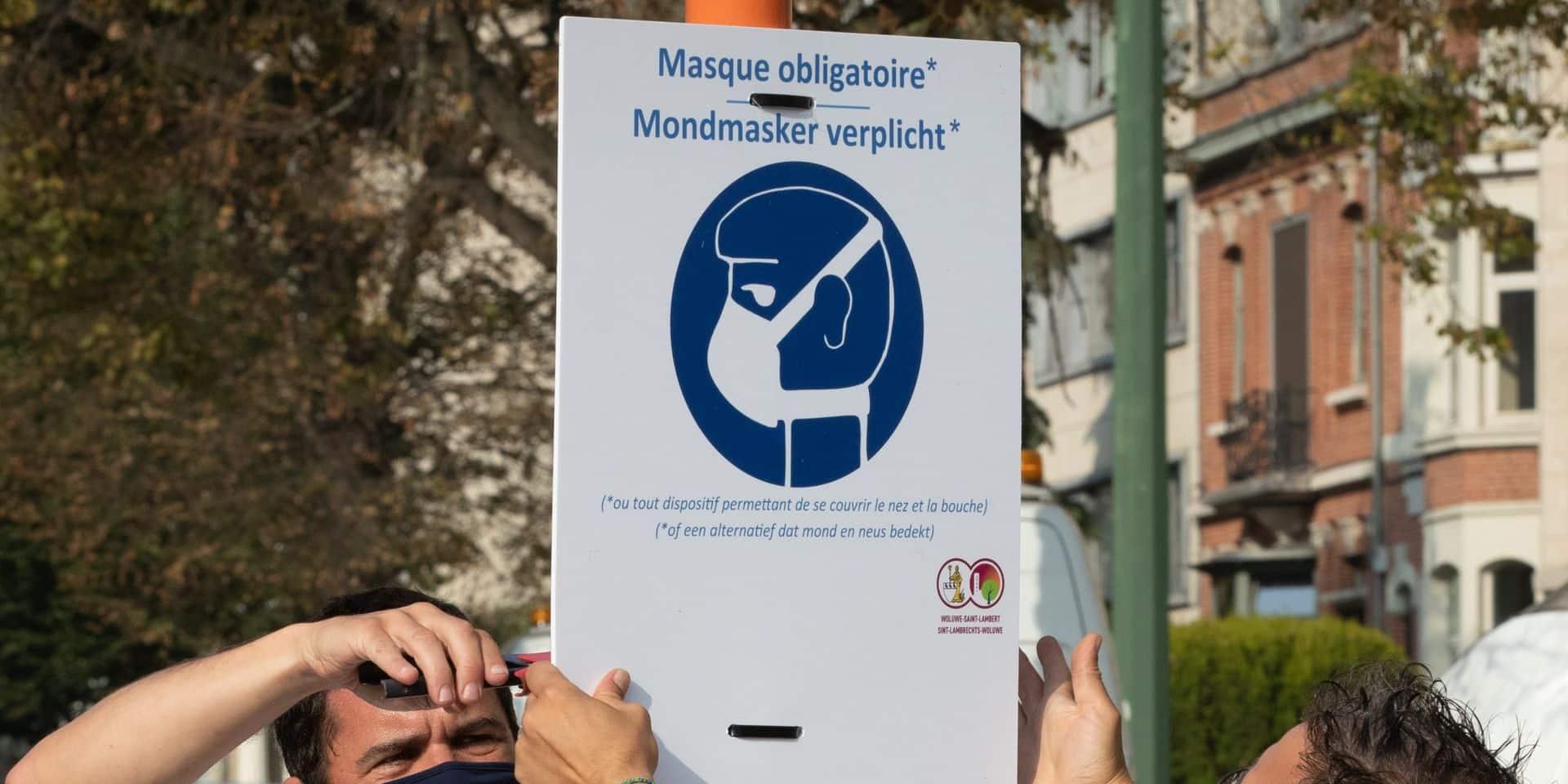 Assouplissement de l'obligation de port du masque à La Panne, Coxyde et Nieuport