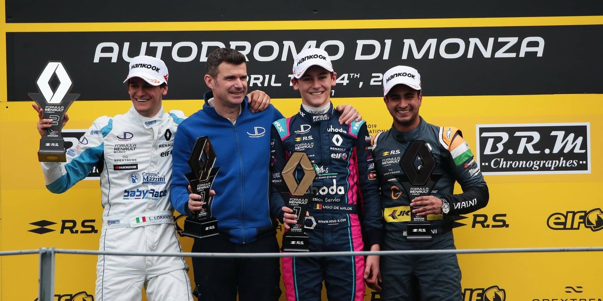 Brabançonne à Monza avec la victoire d'Ugo de Wilde en Formule Renault !