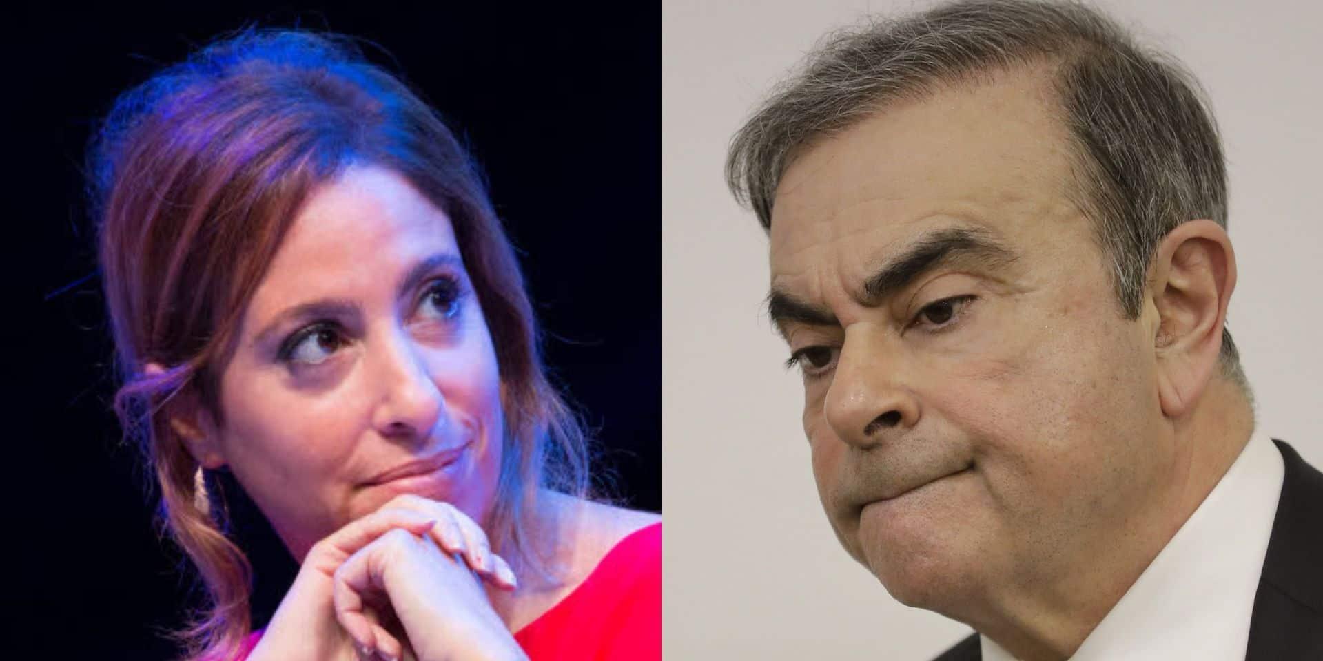 """""""La malle? Pas la malle?"""": Léa Salamé critiquée pour son interview """"complaisante"""" de Carlos Ghosn"""