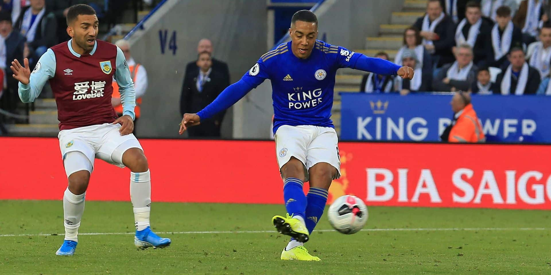 Youri Tielemans version Ligue des champions