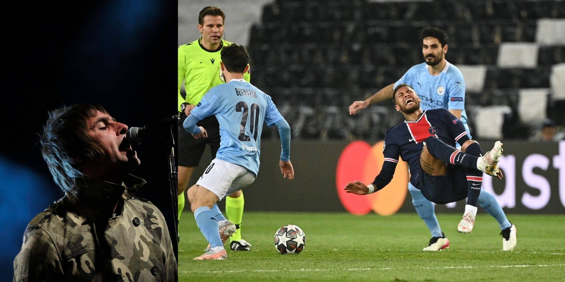 """""""Petit plongeur"""", """"petit con"""": quand Liam Gallagher, l'ancien leader d'Oasis, insulte Neymar"""