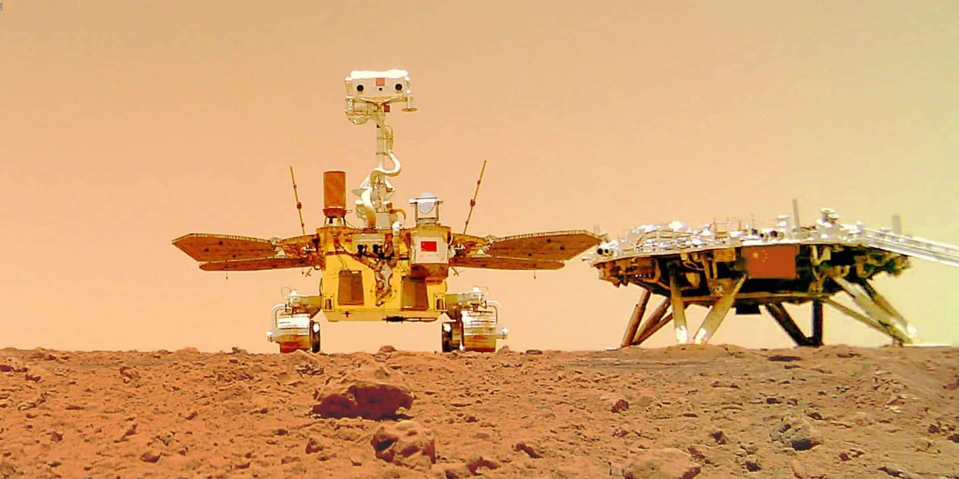 La Chine veut envoyer une mission spatiale habitée sur Mars en 2033