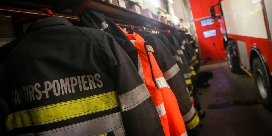 Longue intervention des pompiers pour un incendie d'habitation à Seilles