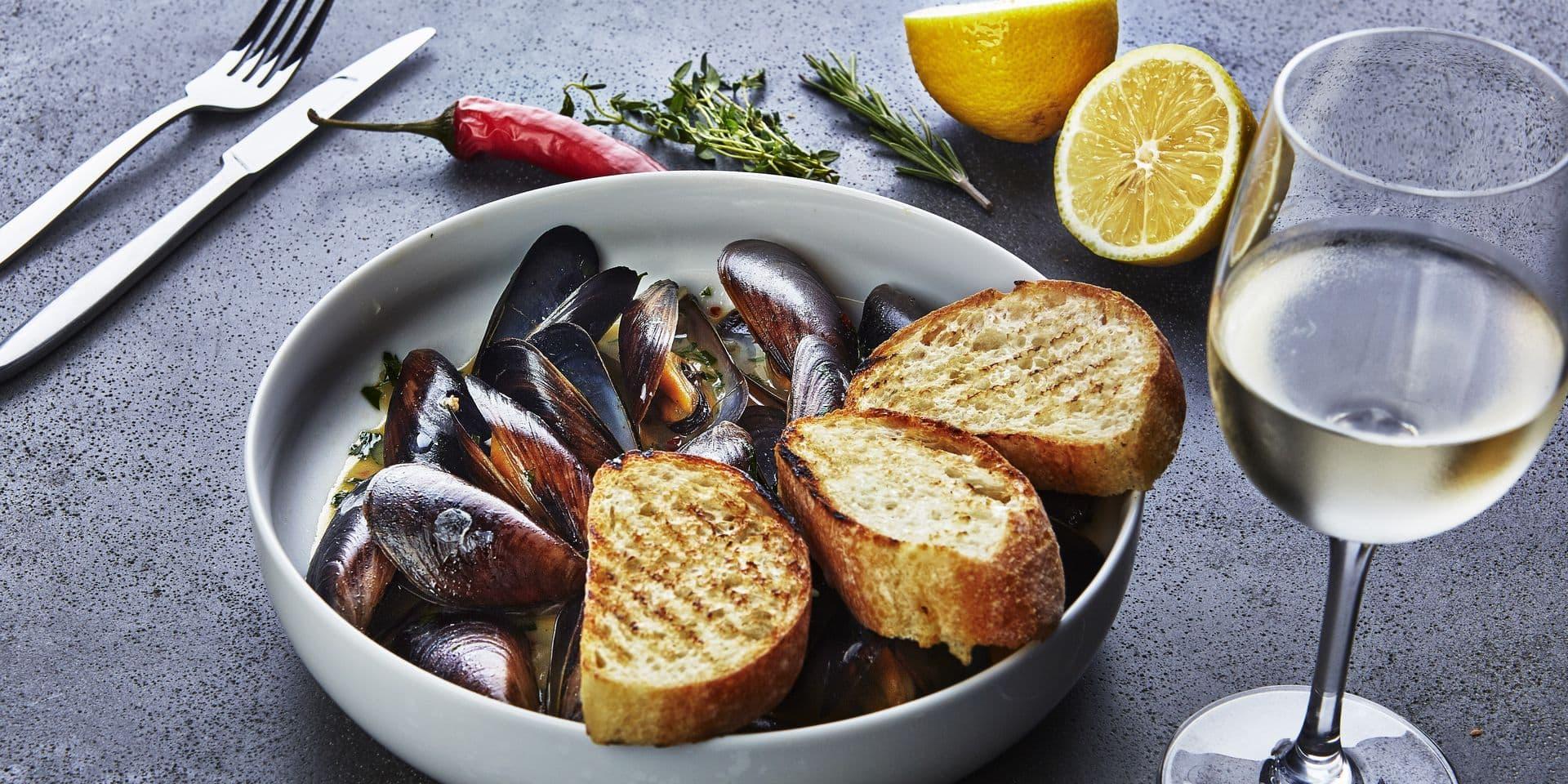 Moules: quel(s) vin(s) pour accompagner ce noble mollusque?